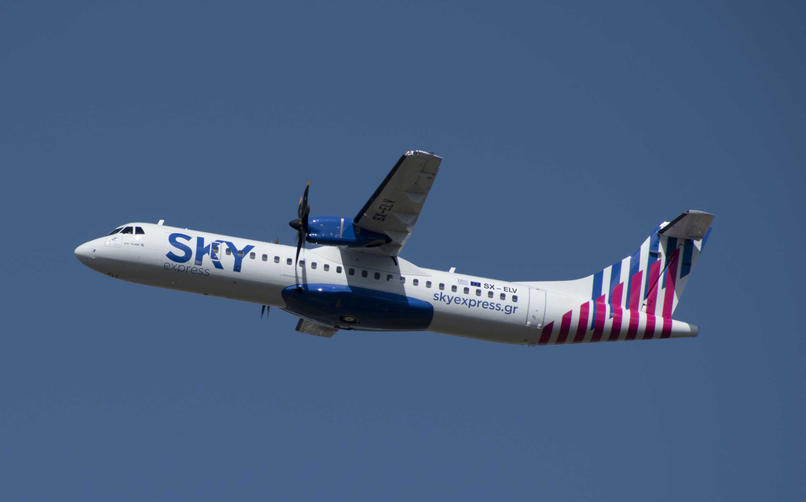 SKY express: Ξεκίνησαν οι απευθείας πτήσεις για Λονδίνο