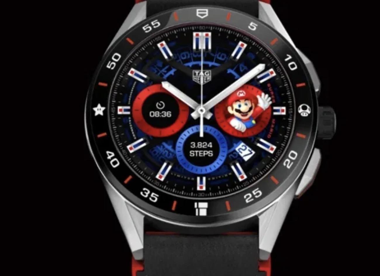 Το νέο smartwatch της TAG Heuer είναι αφιερωμένο στον Super Mario