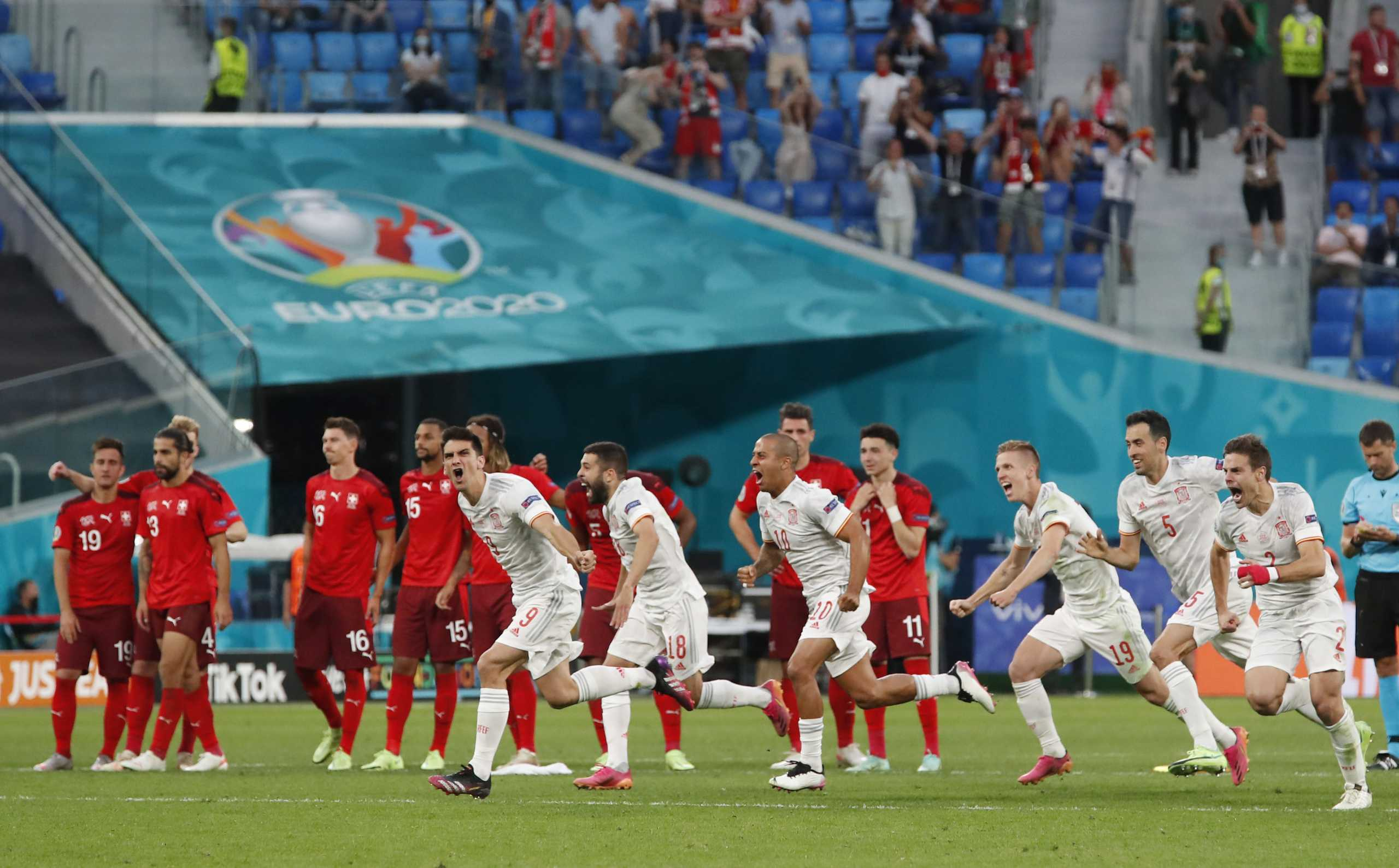 Euro 2020, Ελβετία – Ισπανία 1-3 στα πέναλτι: Στα ημιτελικά με ήρωα Σιμόν οι Ίβηρες