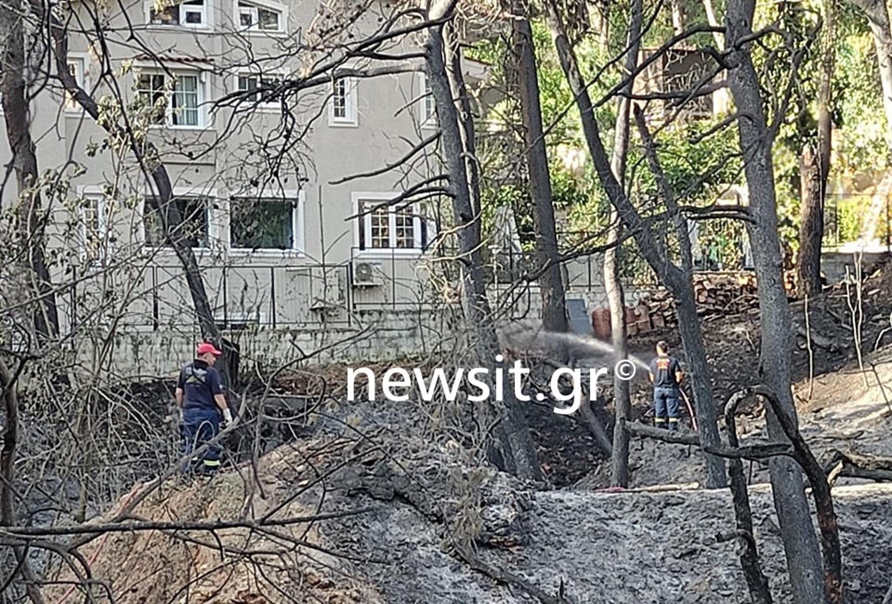 Φωτιά στη Σταμάτα: Τεράστιες οι καταστροφές – Αρχίζει η καταγραφή ζημιών