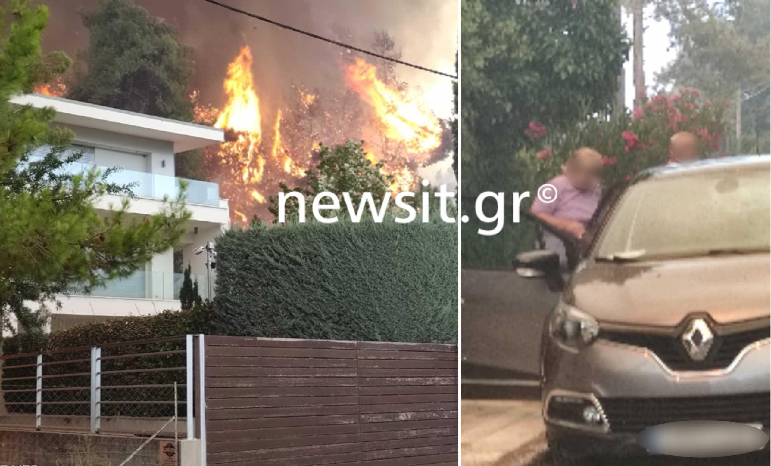 Σταμάτα: Στα σπίτια η φωτιά! Κάτοικοι φεύγουν για να σωθούν