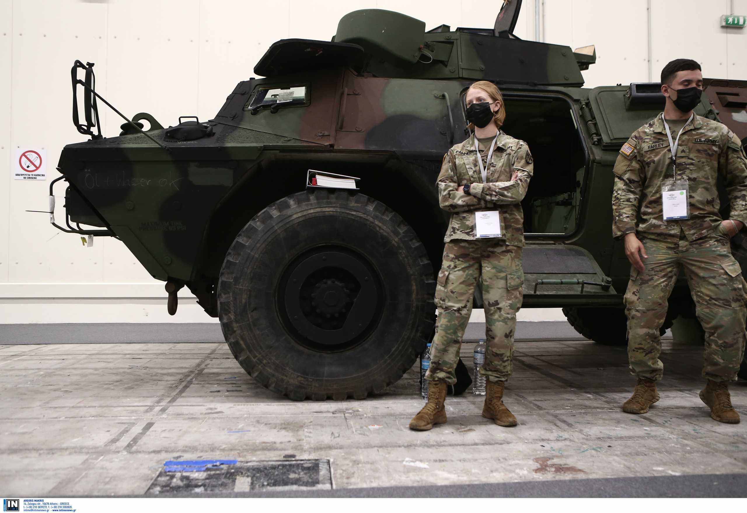DEFEA 2021: Επίσκεψη μελών της Επιτροπής Εθνικής Άμυνας και Εξωτερικών Υποθέσεων της Βουλής