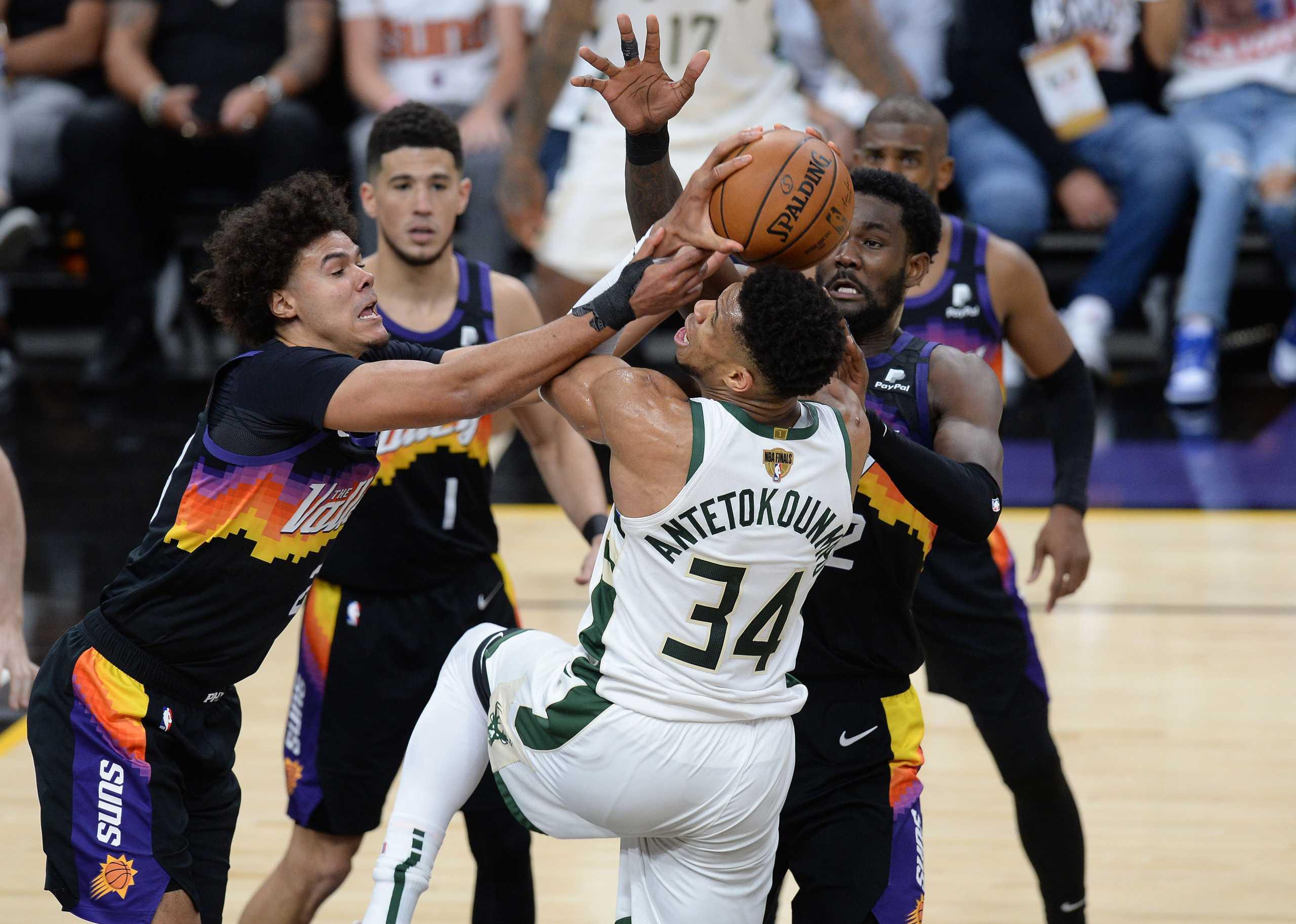 Αντετοκούνμπο: Έτσι αγωνίστηκε στον πρώτο τελικό του NBA