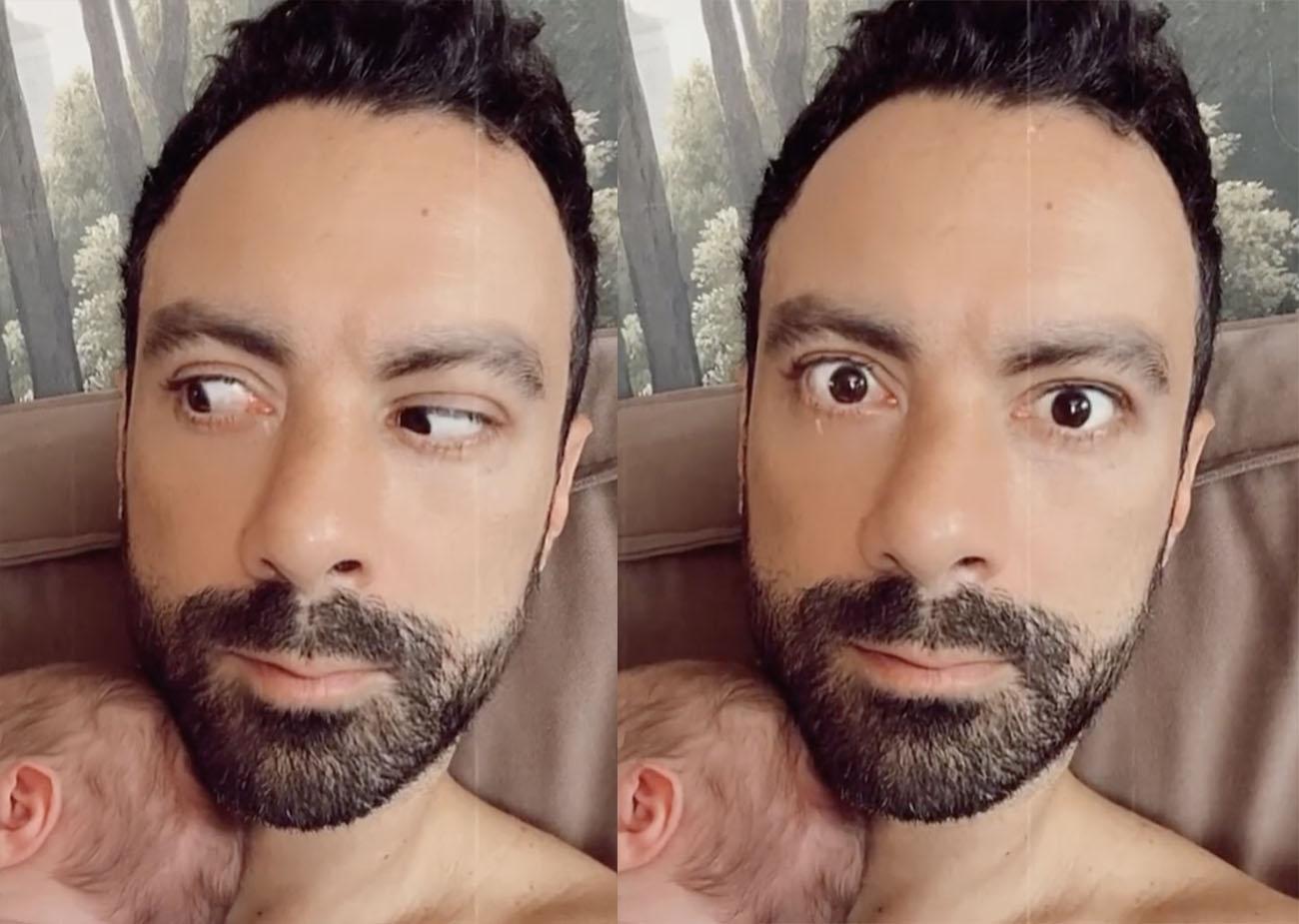 Σάκης Τανιμανίδης: Το νέο βίντεο με τα δίδυμα που «γονάτισε» το Instagram