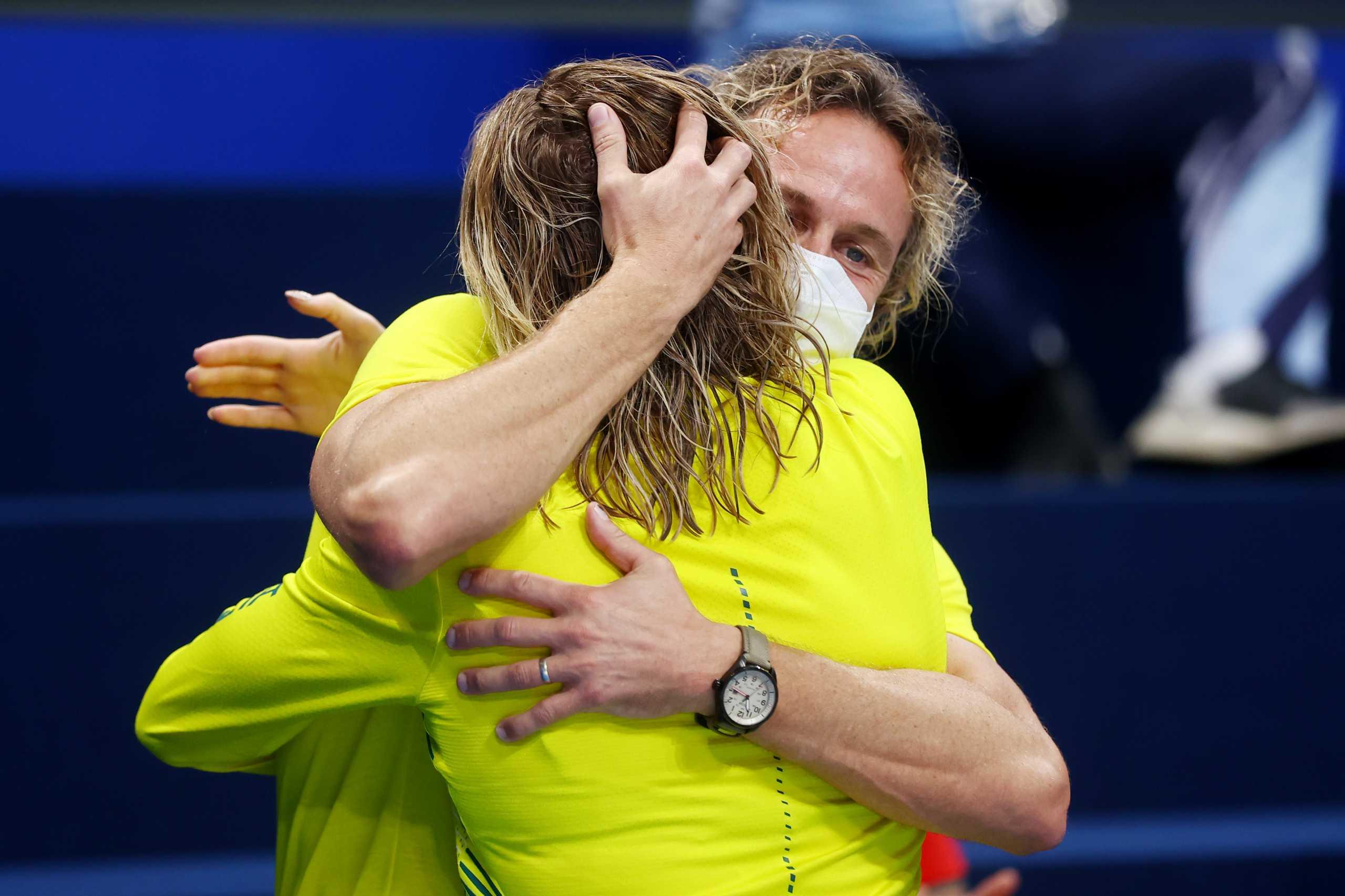 Ολυμπιακοί Αγώνες: Η Τίτμους θριάμβευσε κι ο προπονητής της «τρελάθηκε» και πάλι