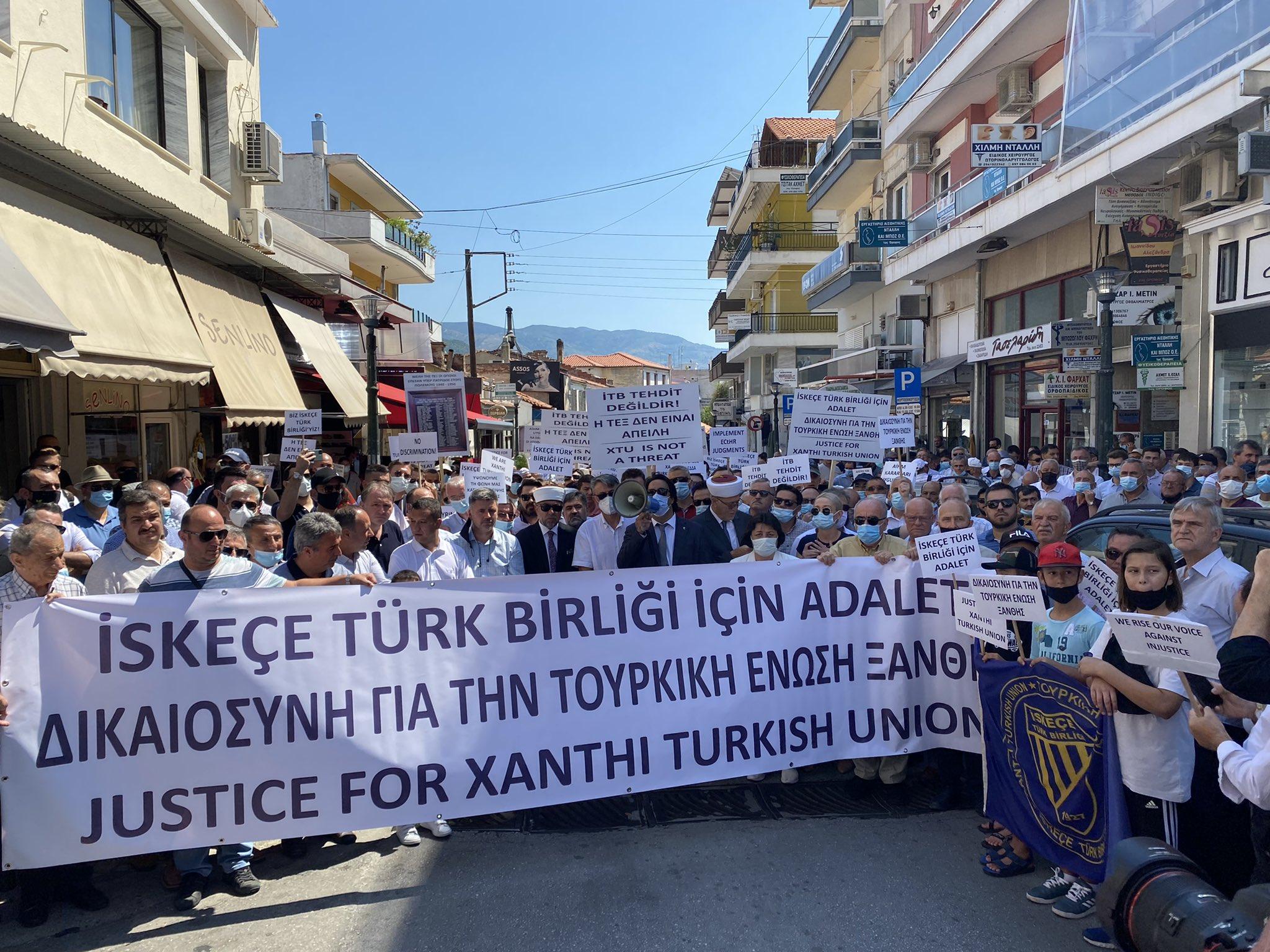«Βράζουν» στην Ξάνθη για την «Τουρκική Ένωση» – Διαμαρτυρία και πορεία στους δρόμους