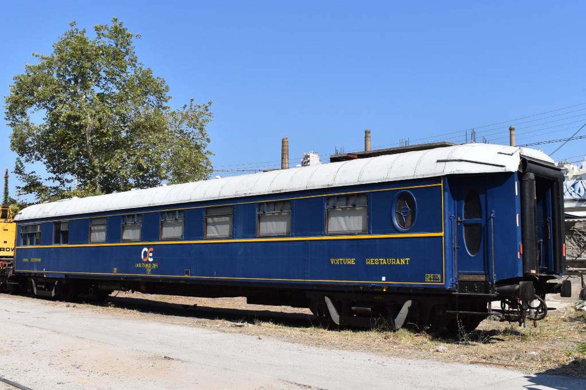 Η ΤΡΑΙΝΟΣΕ «ανασταίνει» το θρυλικό wagοn restaurant του θρυλικού Orient Express