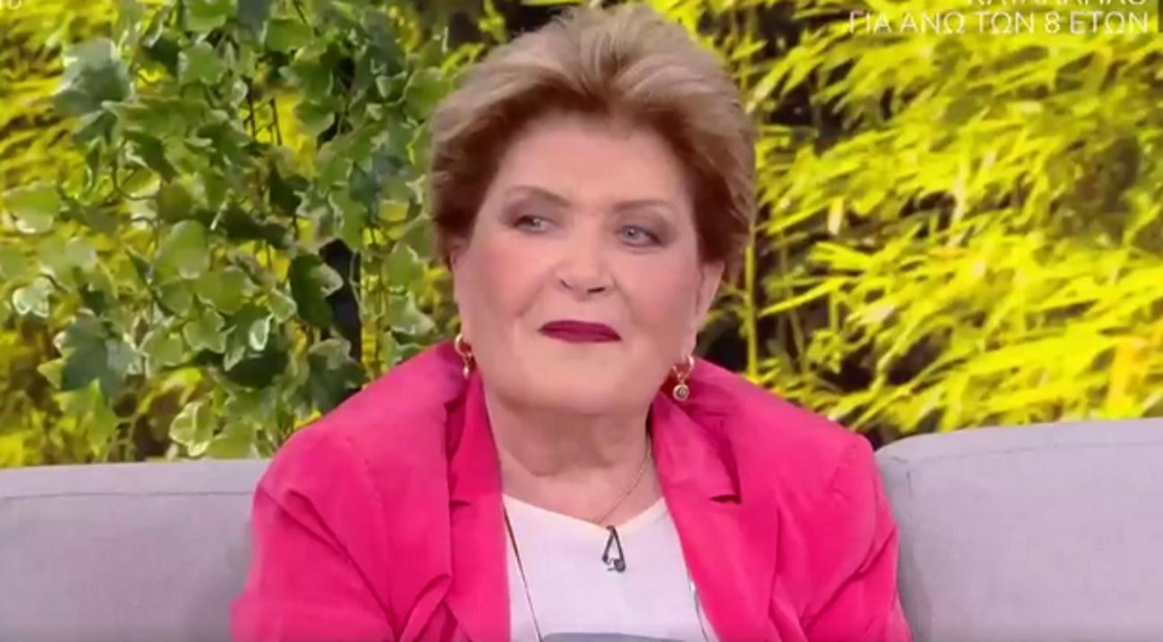 Βάσια Τριφύλλη: «Ο Πέτρος Φιλιππίδης είναι φίλος μου, λυπάμαι το ταλέντο του»