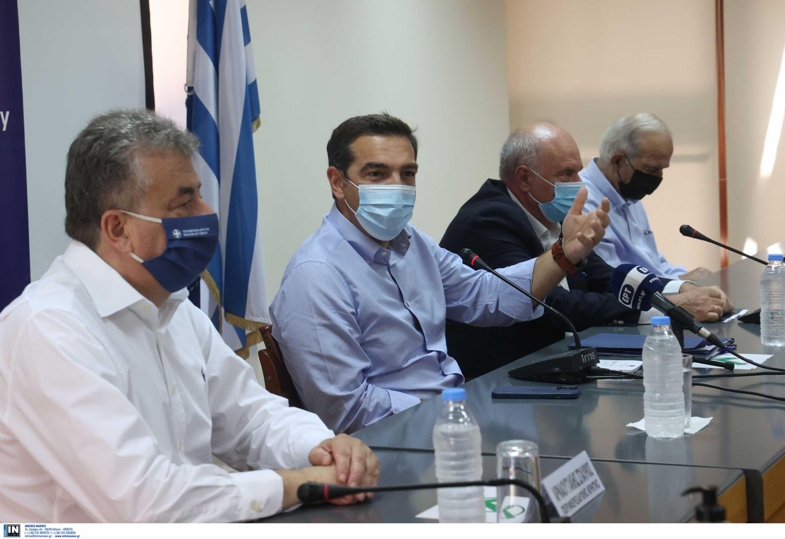 Αλέξης Τσίπρας:«Απαιτούνται μέτρα που θα προλάβουν την επιδείνωση και την έκρηξη της πανδημίας»