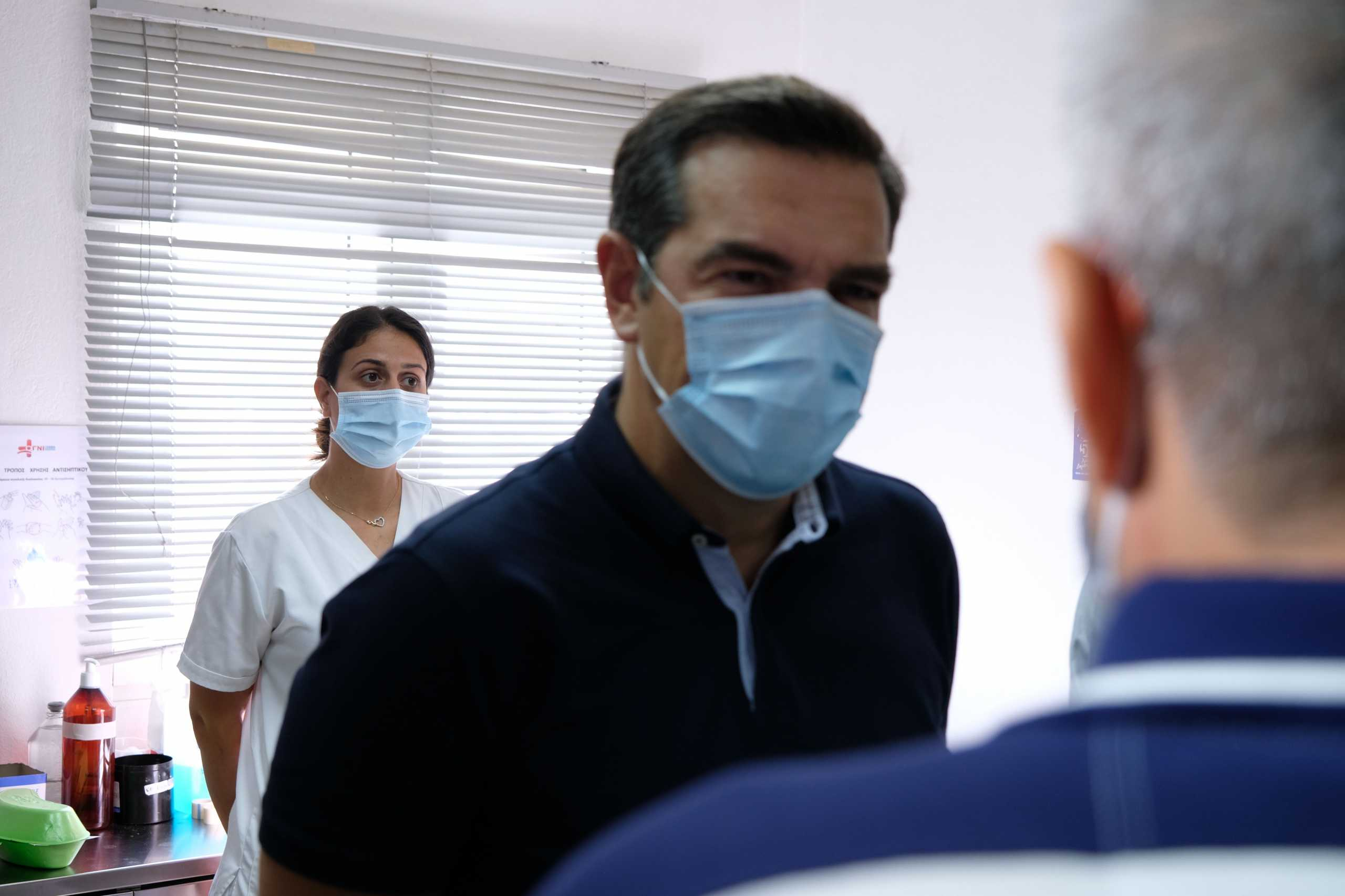 Αλέξης Τσίπρας: Τηρείτε τα μέτρα – Μην τολμήσει η κυβέρνηση συγχωνεύσεις και κλείσιμο νοσοκομείων