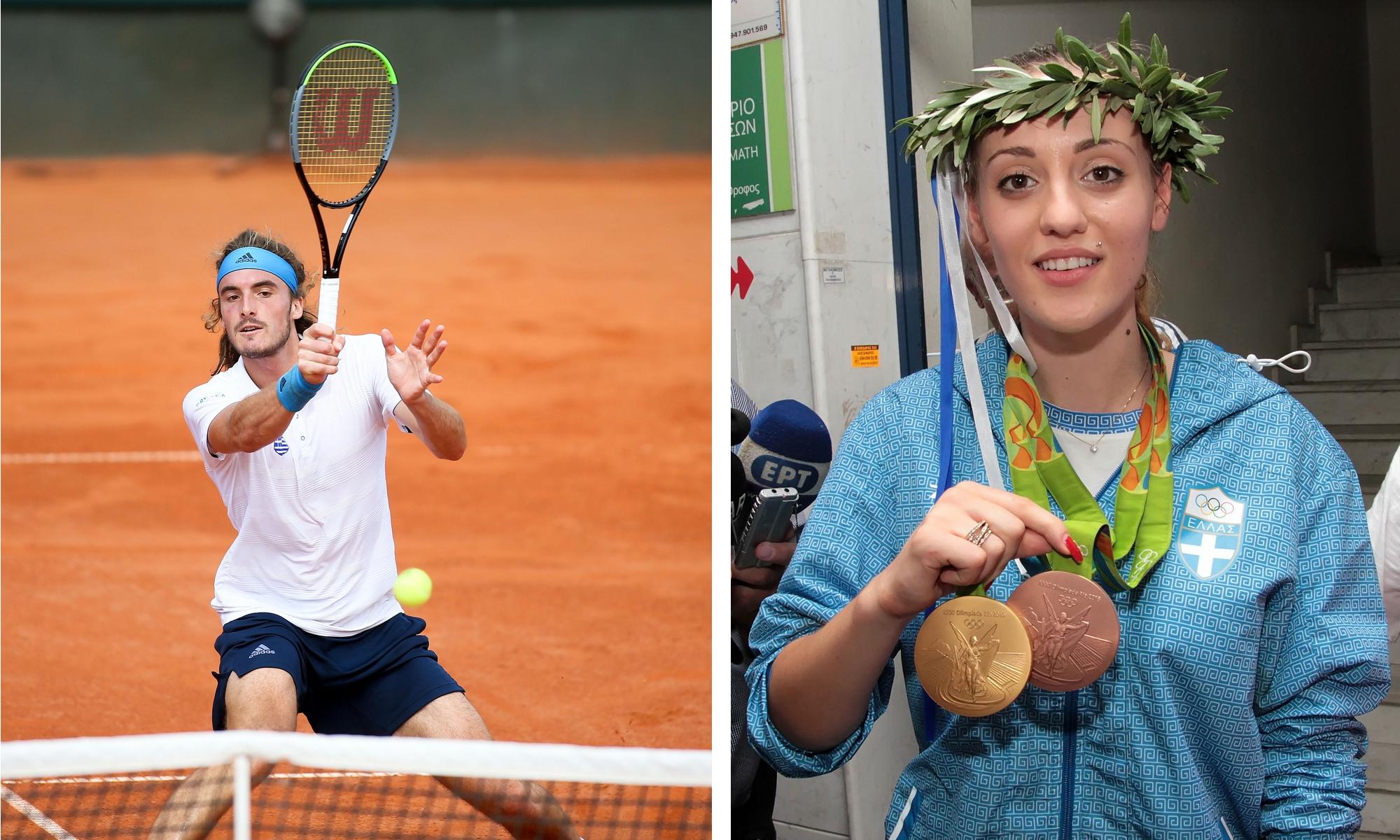 Ολυμπιακοί Αγώνες: Άννα Κορακάκη και Στέφανος Τσιτσιπάς ρίχνονται στη «μάχη» από τα ξημερώματα της Κυριακής