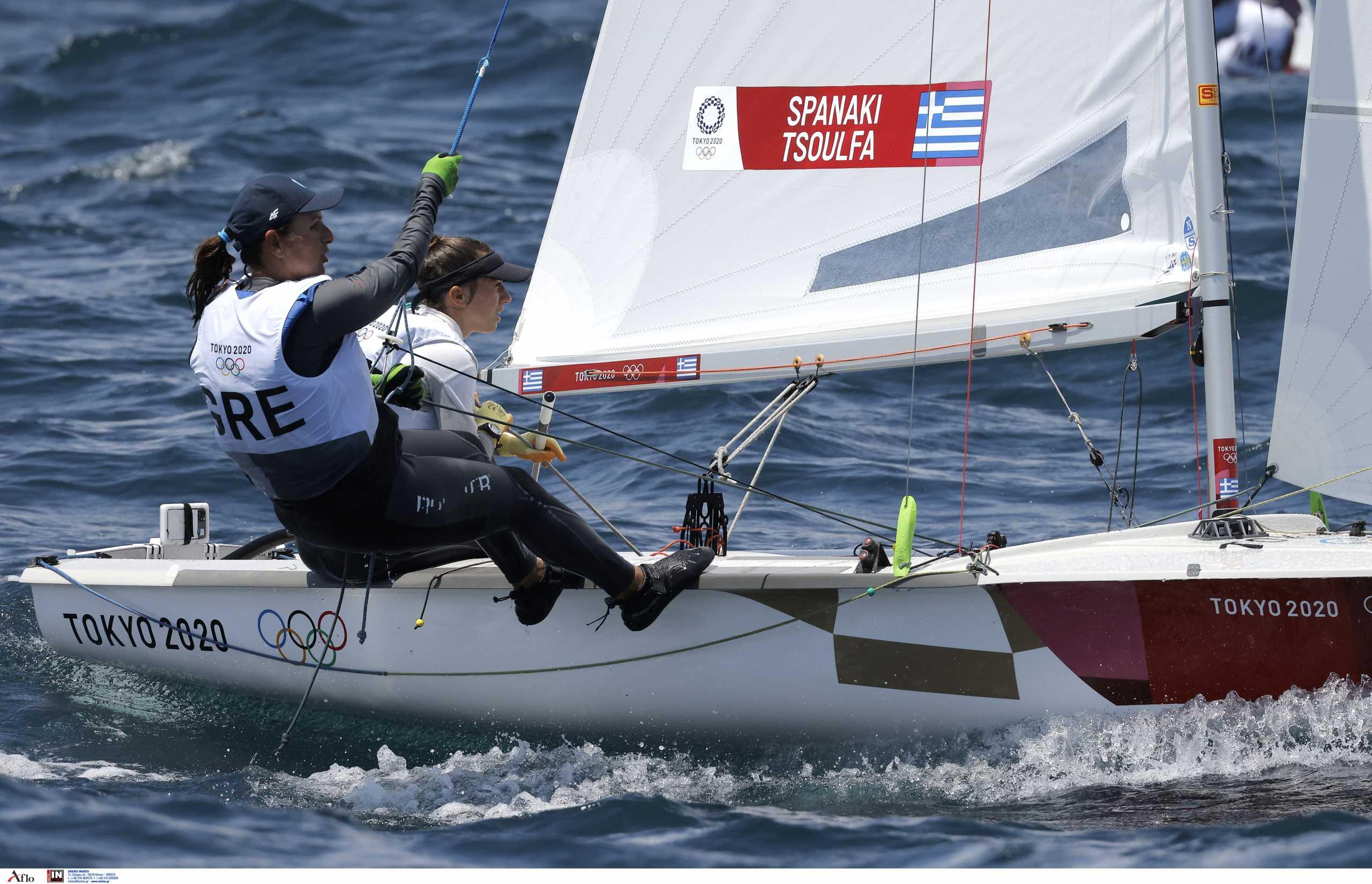 Ολυμπιακοί Αγώνες: Στη 15η θέση κατετάγησαν οι Αιμιλία Τσουλφά – Αριάδνη Σπανάκη