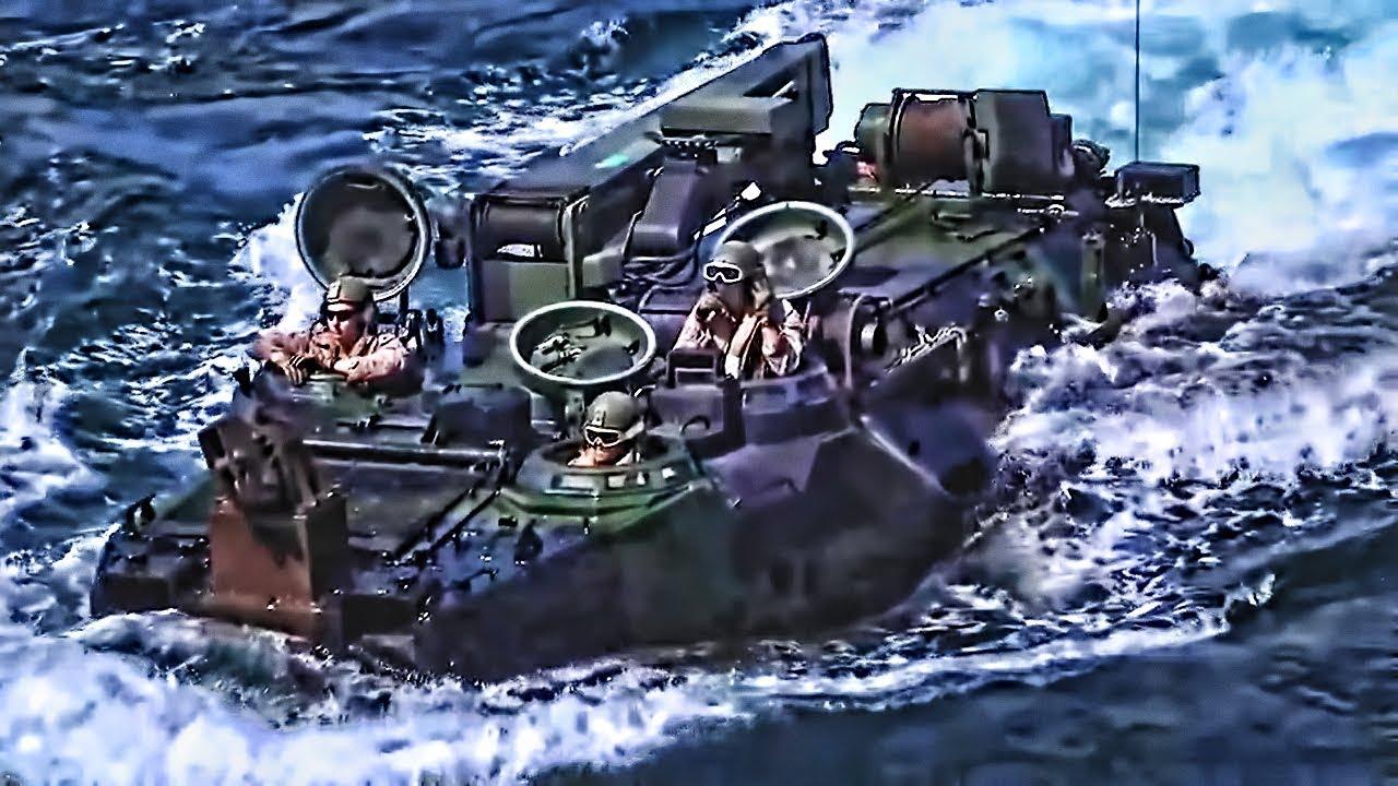 USMC: Έτσι κάνουν απόβαση οι Αμερικανοί Πεζοναύτες – Εντυπωσιακά πλάνα