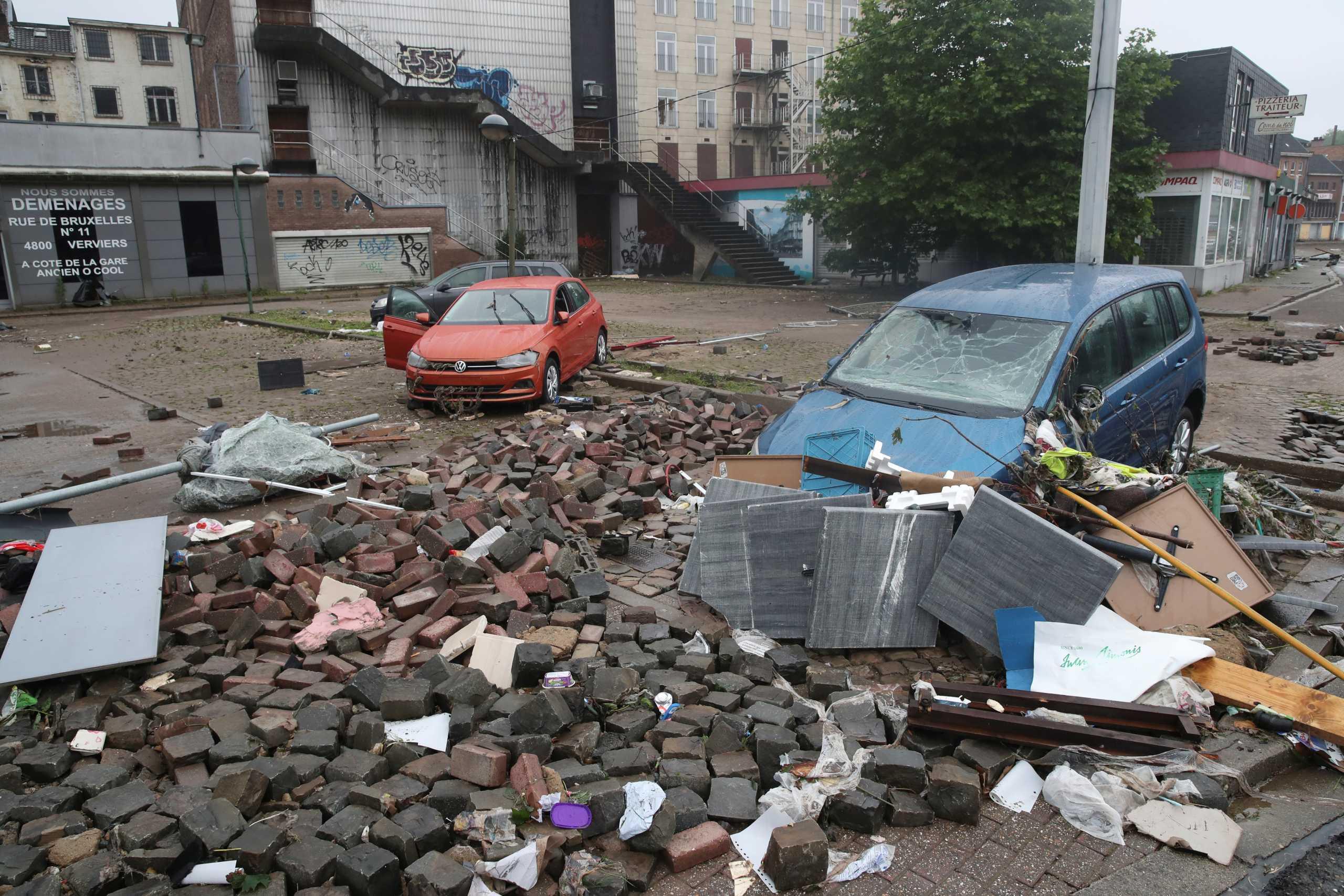 Βέλγιο: 12 οι νεκροί από τις πλημμύρες στην Βαλλονία