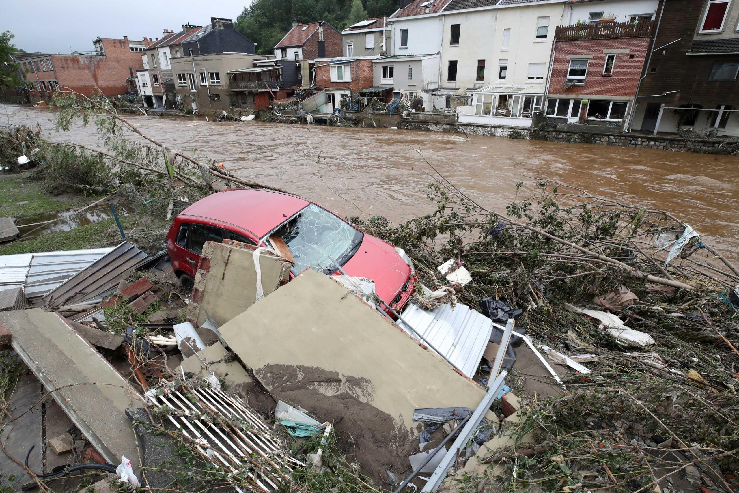 Βέλγιο: 27 νεκροί από τις πλημμύρες – Μεσίστιες οι σημαίες