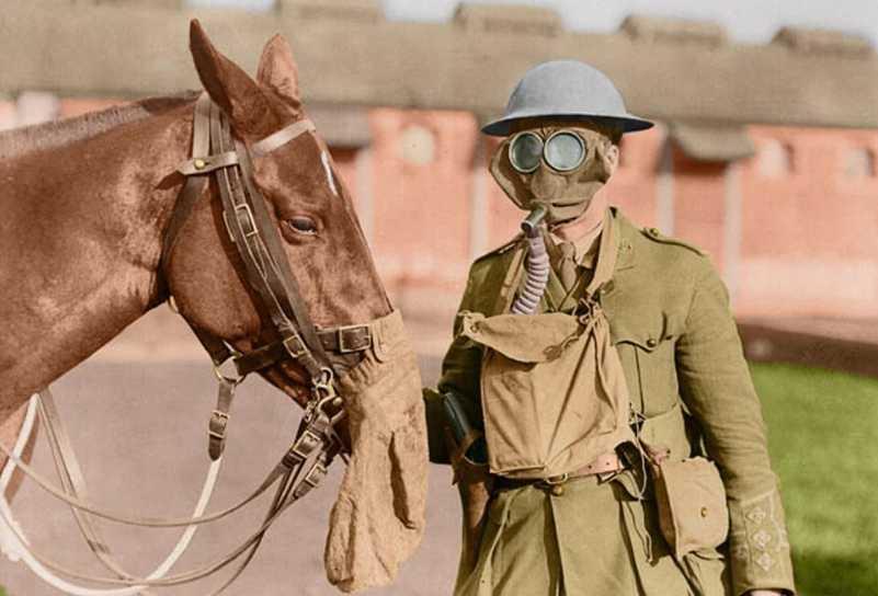 Ο «Πόλεμος όλων των πολέμων»: Σπάνιες έγχρωμες φωτογραφίες του Α'ΠΠ