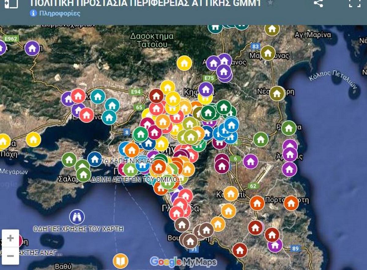 Καύσωνας: Αυτοί είναι οικλιματιζόμενοι χώροι σε όλη την Αττική – Δείτε τον διαδραστικό χάρτη