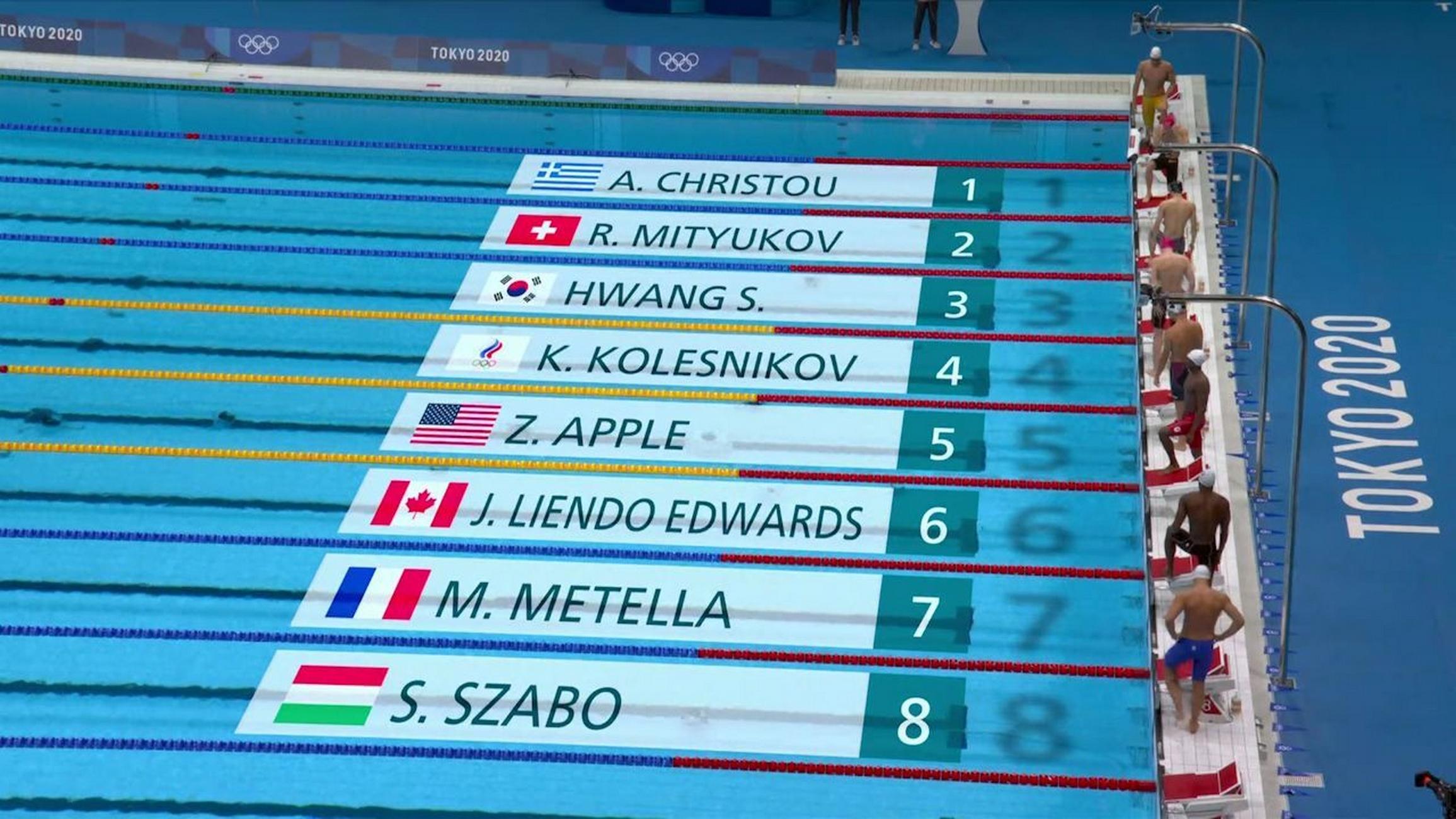 Ολυμπιακοί Αγώνες: Άτυχος ο Χρήστου αποκλείστηκε για 0,06 δευτερόλεπτα