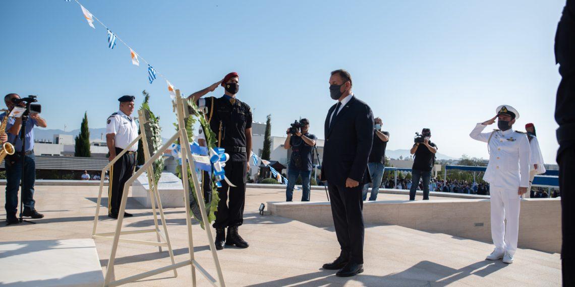 Συγκινημένος ο ΥΕΘΑ: Θα είμαστε πάντα στο πλευρό της Κύπρου απέναντι στην τουρκική κατοχή
