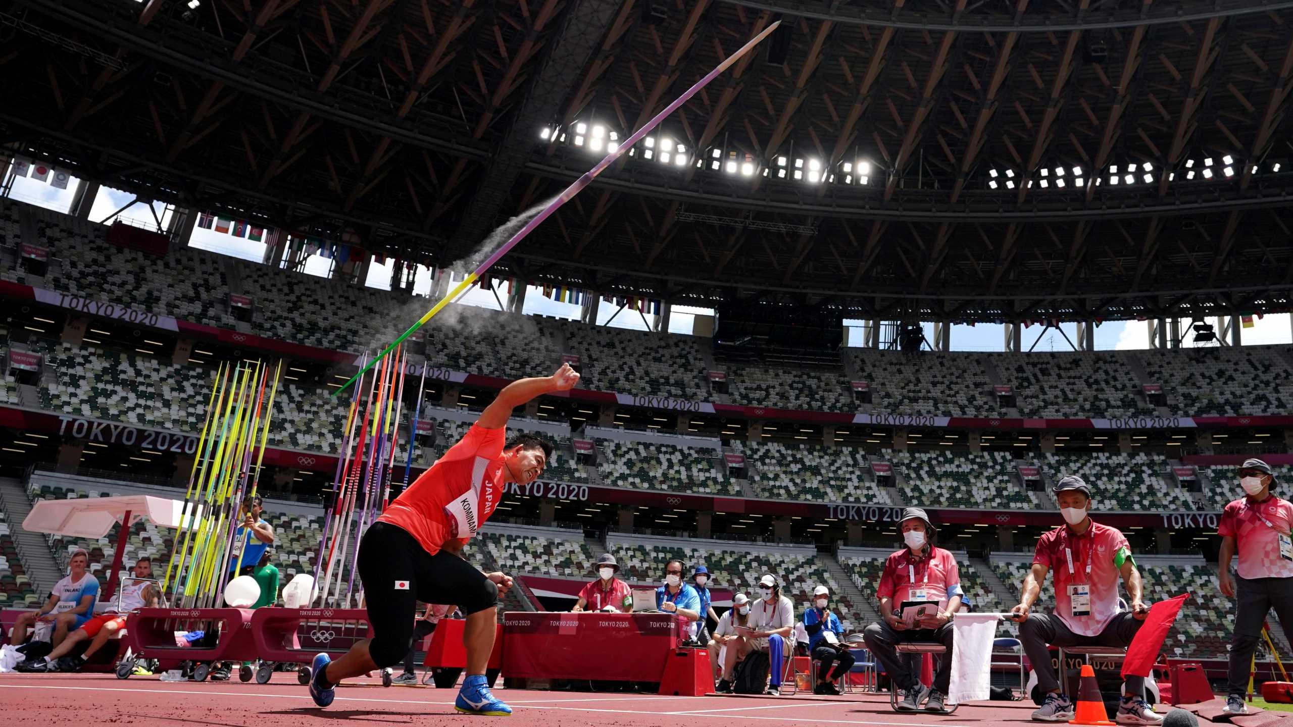 Ολυμπιακοί Αγώνες: Εκπλήξεις στον ακοντισμό των ανδρών – Εκτός τελικού «μεγάλα» ονόματα