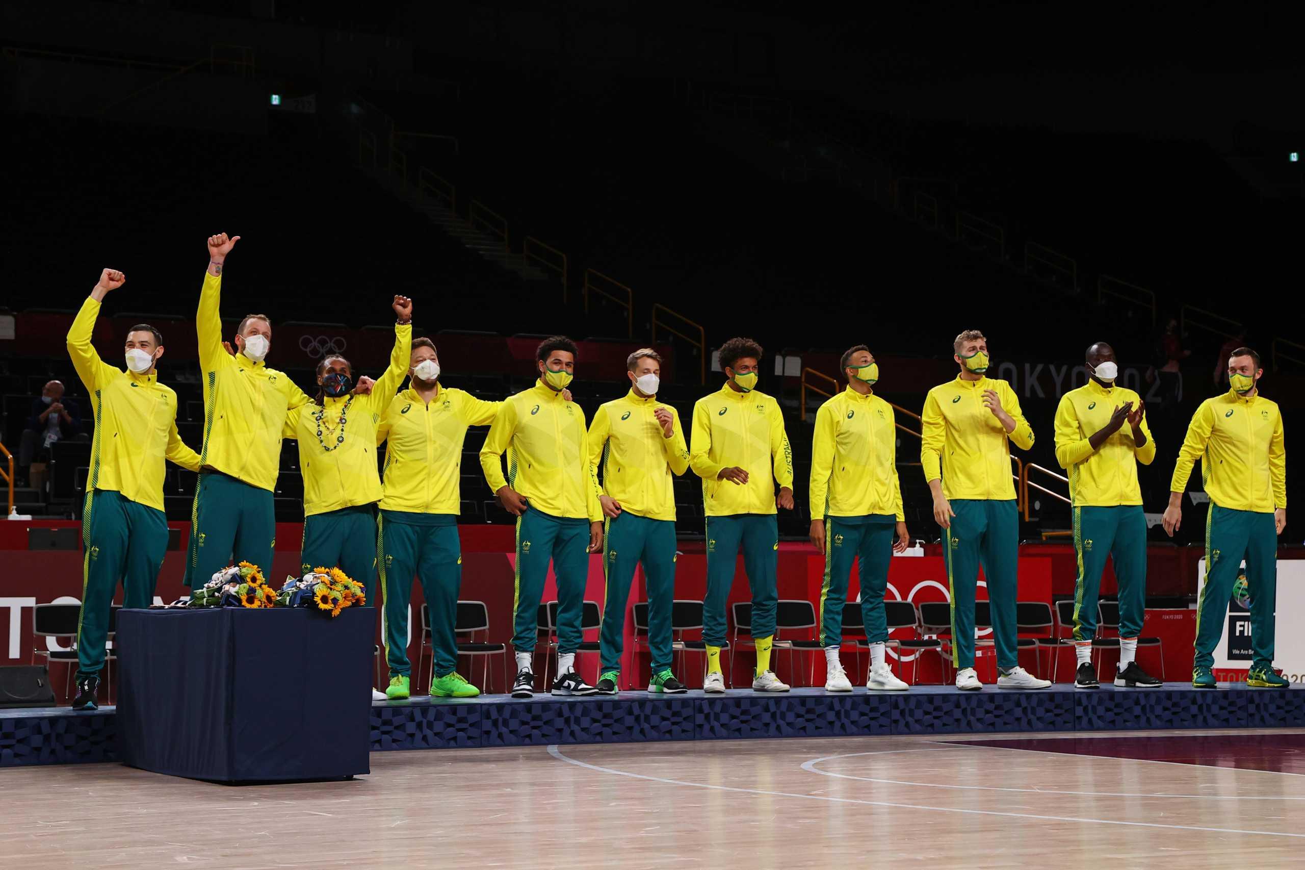 Ολυμπιακοί Αγώνες: «Χάλκινη» η Αυστραλία στο μπάσκετ, «λύγισε» τον Ντόντσιτς και την παρέα του