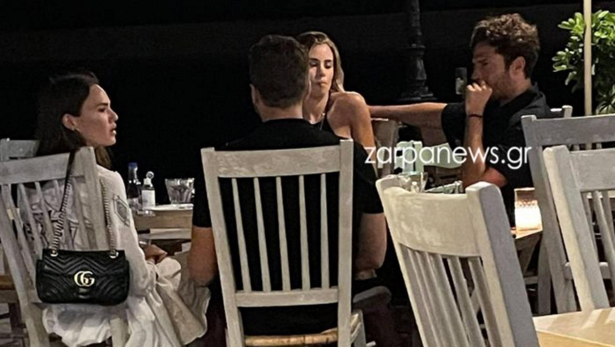 Κωνσταντίνος Αργυρός: Χαλαρώνει στα Χανιά – Το δείπνο, η παρέα και οι selfies