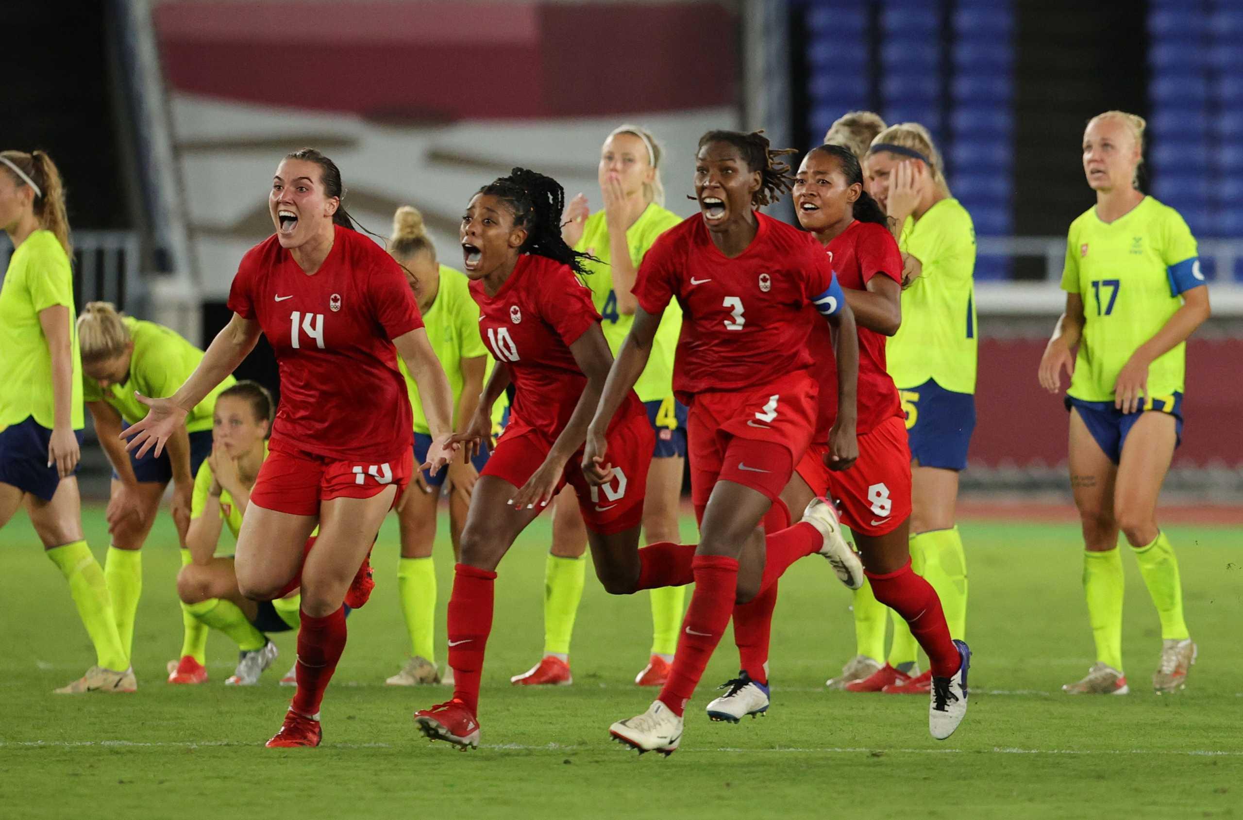 Ολυμπιακοί Αγώνες: «Χρυσός» ο Καναδάς, νίκησε στα πέναλτι την Σουηδία στον ποδοσφαιρικό τελικό των γυναικών