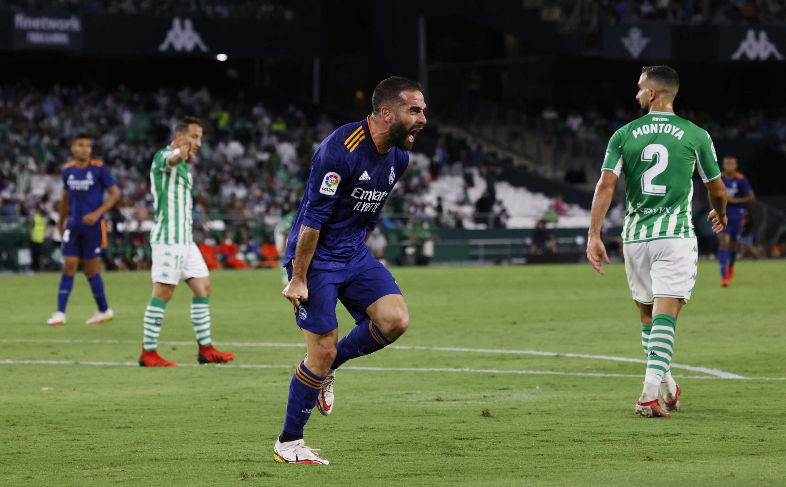 La Liga: Απόδραση από την έδρα της Μπέτις και κορυφή για την Ρεάλ – Πρώτη απώλεια για Σεβίλλη