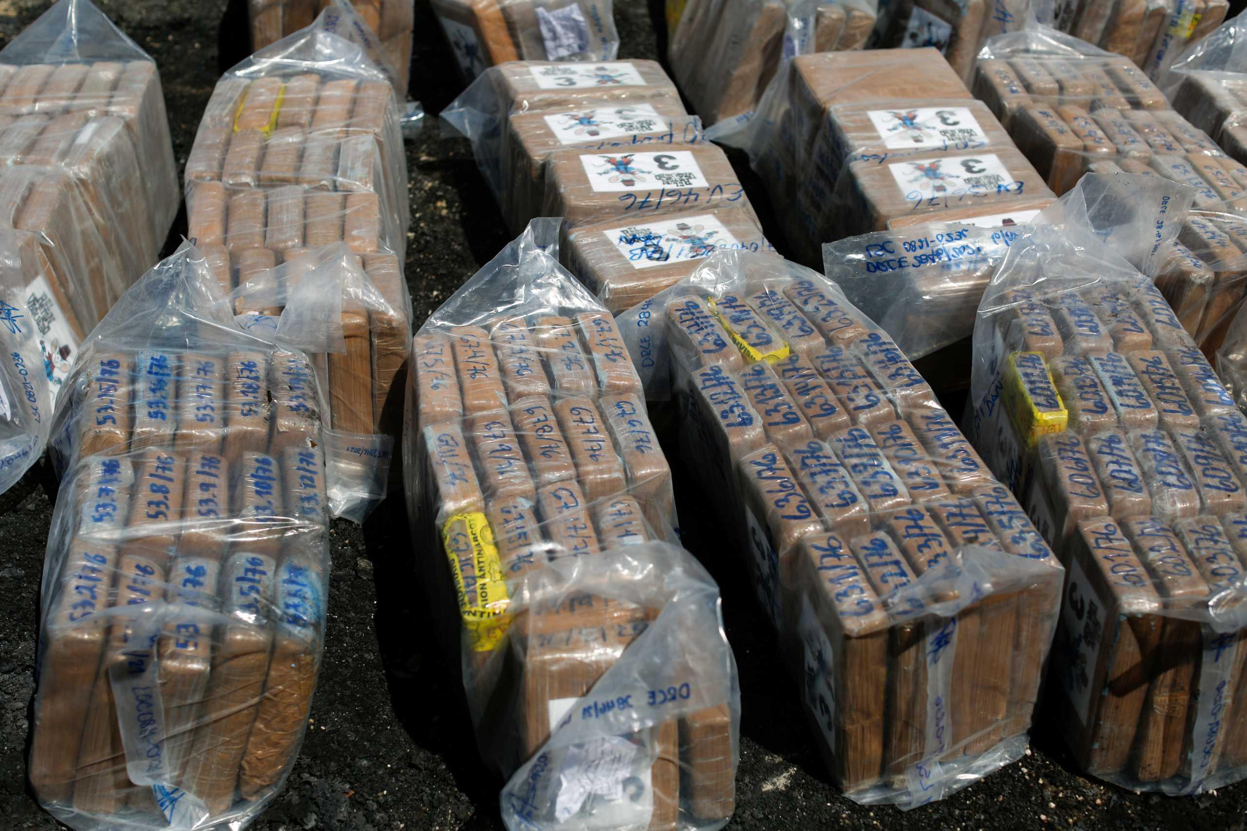 Ισημερινός: Κατασχέθηκαν 9,6 τόνοι κοκαΐνη από την Κολομβία