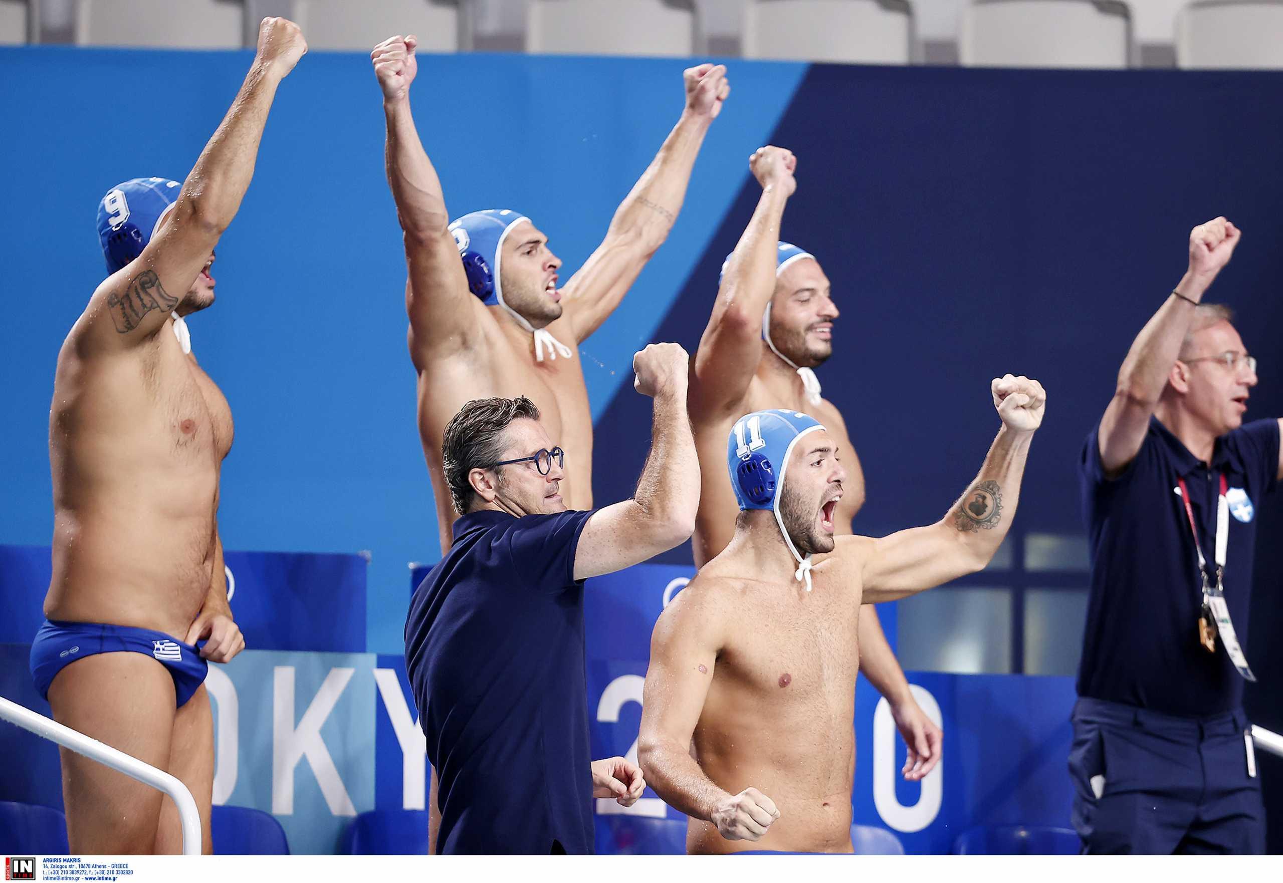 Ελλάδα – Μαυροβούνιο 10-4 ΤΕΛΙΚΟ: Η εκπληκτική εθνική στην 4άδα των Ολυμπιακών Αγώνων