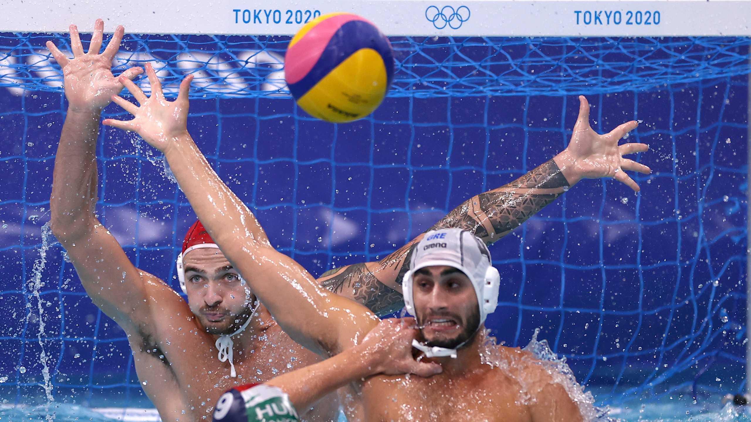 Eλλάδα – Ουγγαρία 9-6 ΤΕΛΙΚΟ: Στον τελικό η «γαλανόλευκη» που πάει για το χρυσό στους Ολυμπιακούς Αγώνες