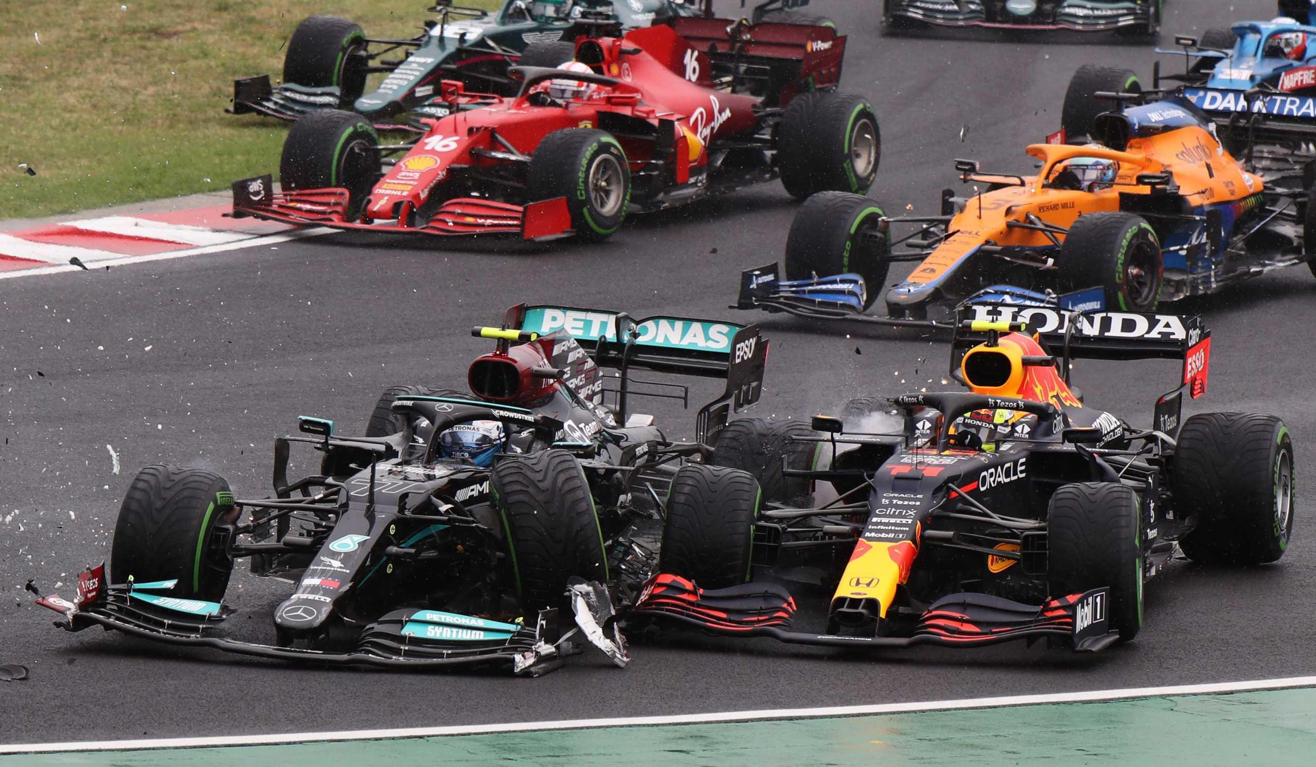 Formula 1: Καραμπόλα μετά την εκκίνηση και τέσσερα μονοθέσια εκτός Grand Prix στην Ουγγαρία