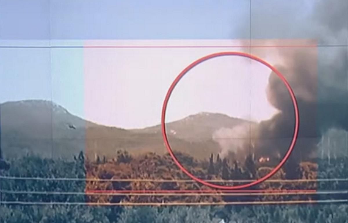 Βίντεο – ντοκουμέντο: Έτσι ξεκίνησε η φωτιά στη Βαρυμπόμπη