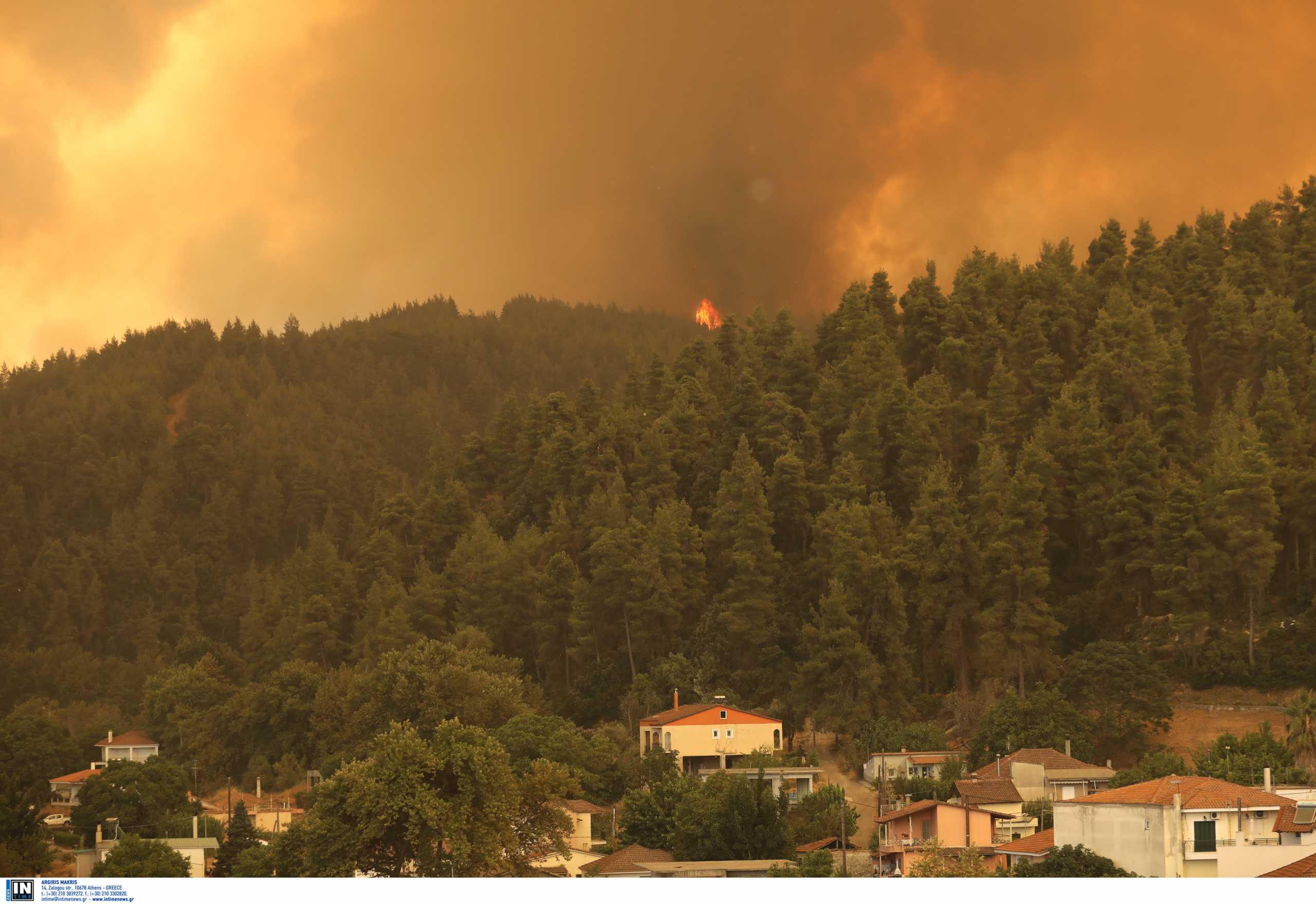 Φωτιές στην Εύβοια – Πρόεδρος πυροσβεστών: Θα οριοθετηθεί σήμερα η πυρκαγιά