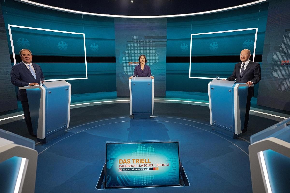 Γερμανία: Ο Όλαφ Σολτς νικητής στην τηλεμαχία των υποψηφίων για την καγκελαρία