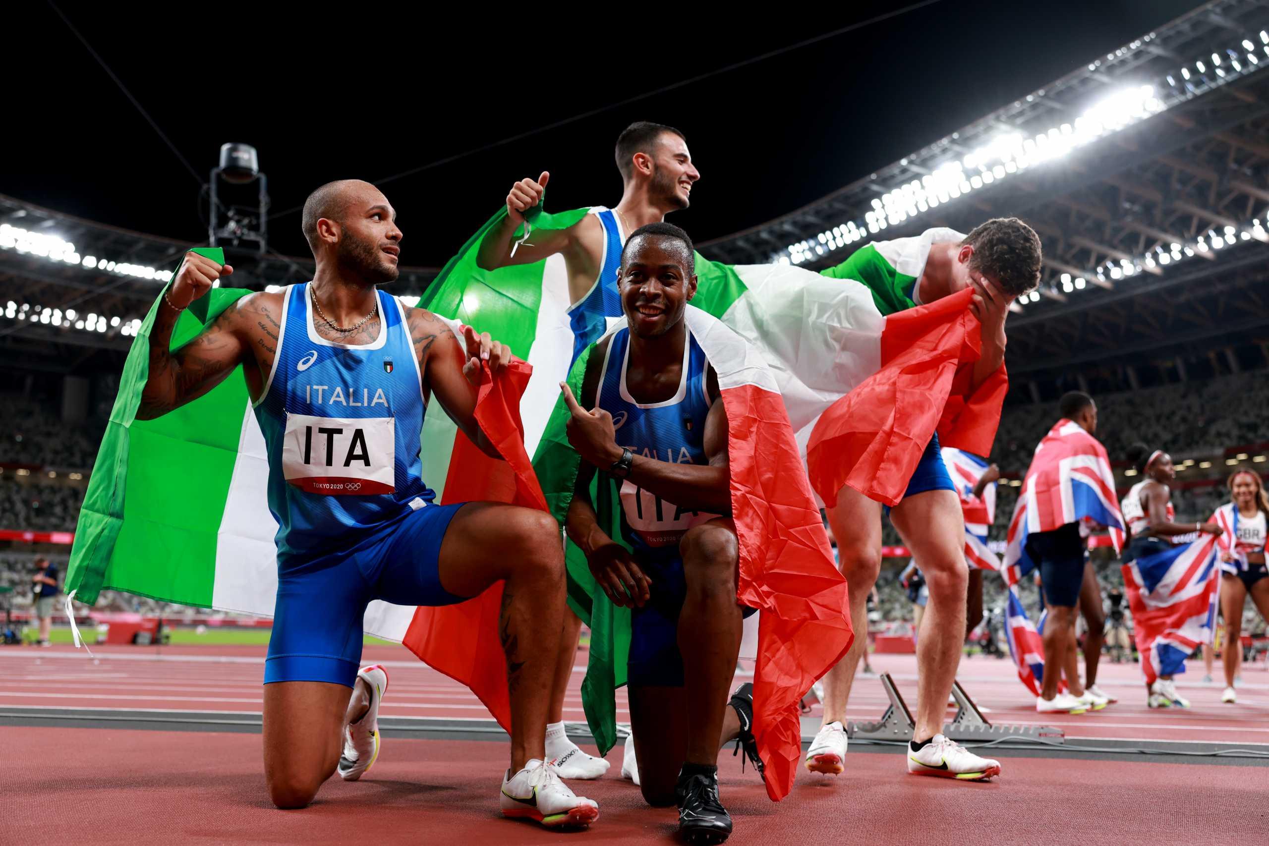 Ολυμπιακοί Αγώνες: «Χρυσή» στο photo finish η Ιταλία στα 4×100 των ανδρών