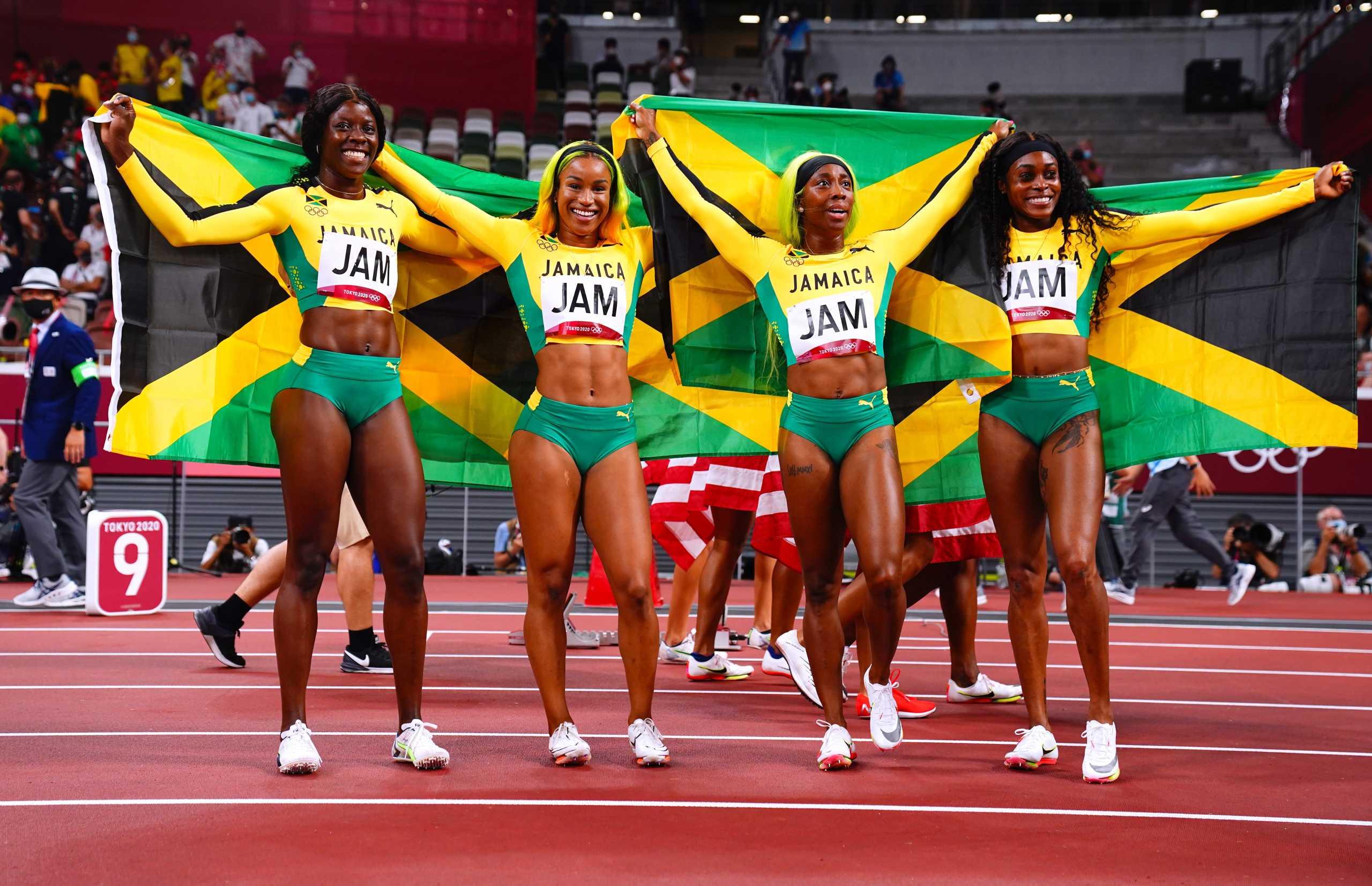 Ολυμπιακοί Αγώνες: «Άνεμος» η Τζαμάικα και χρυσό μετάλλιο στη σκυταλοδρομία 4×100 στις γυναίκες