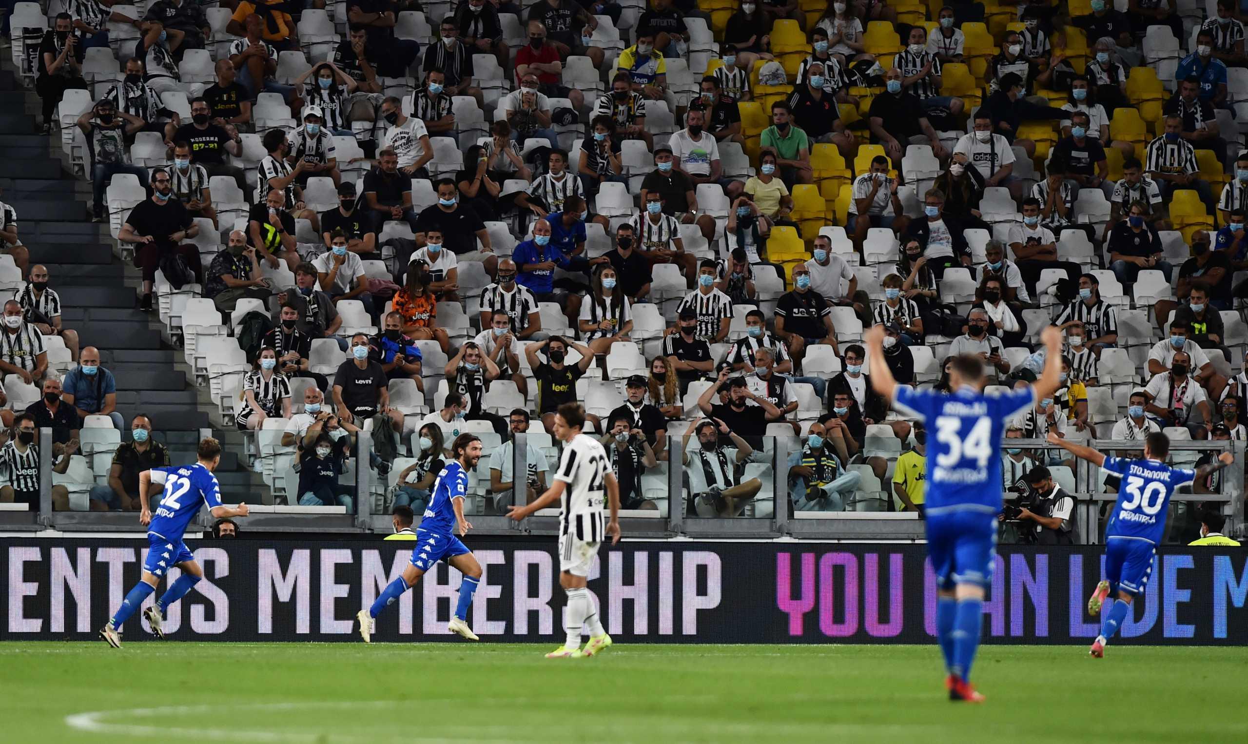 Serie A: «Κάζο» για την Γιουβέντους από την Έμπολι – Έβγαλε το «εξάσφαιρο» η «αγριεμένη» Λάτσιο