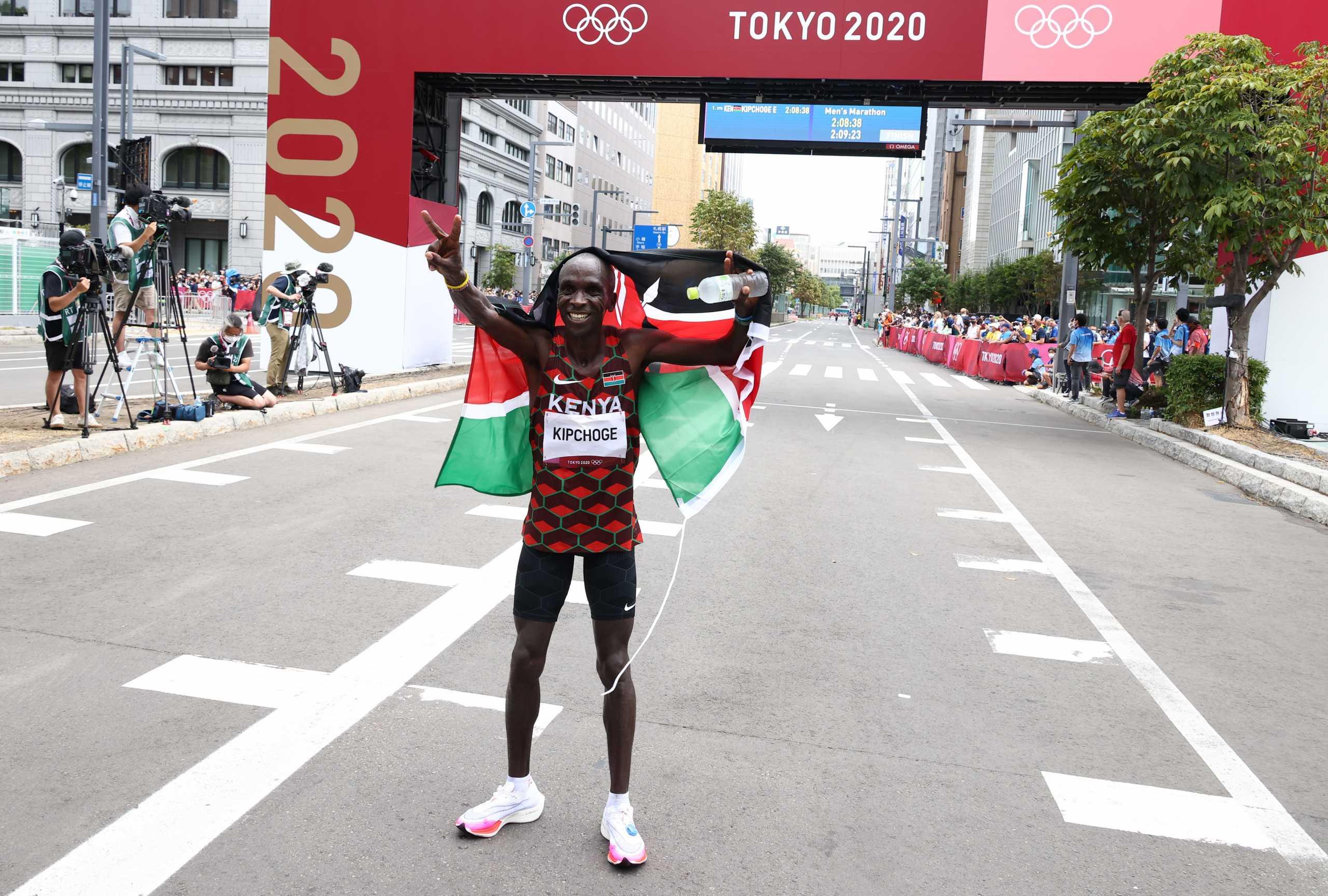 Ολυμπιακοί Αγώνες: «Βασιλιάς» του Μαραθωνίου και στο Τόκιο ο Κιπτσόγκε