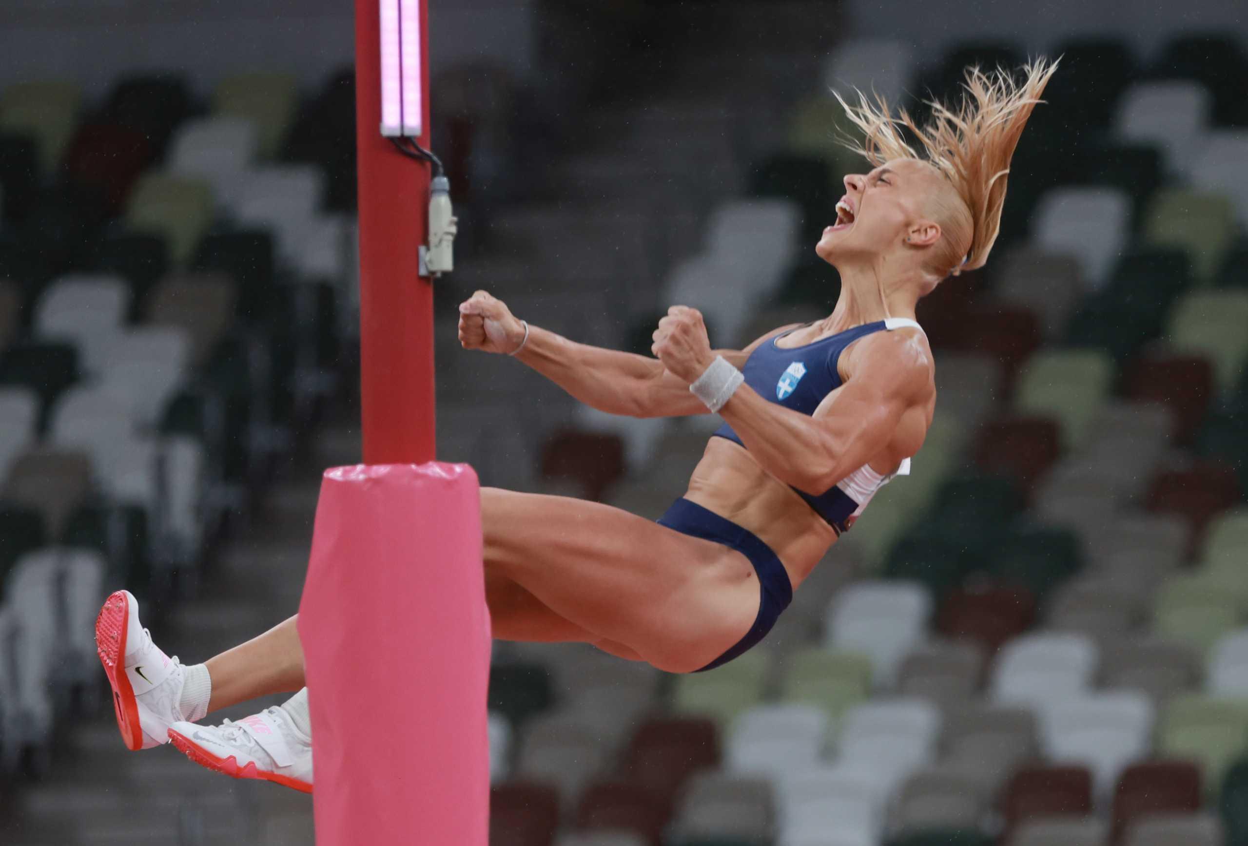 Ολυμπιακοί Αγώνες: Στον τελικό του επί κοντώ Κατερίνα Στεφανίδη και Νικόλ Κυριακοπούλου – Εκτός η Πόλακ