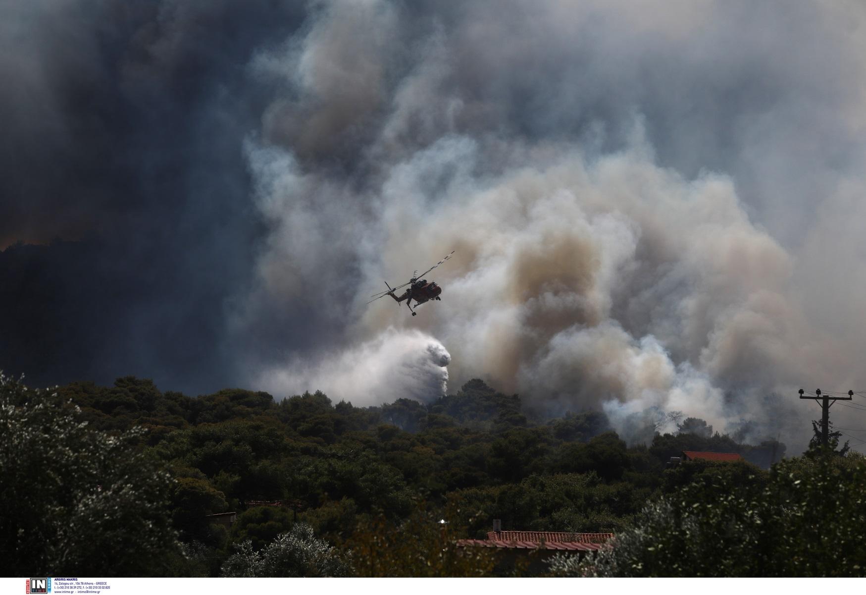 Φωτιές – Πολιτική Προστασία: Πολύ μεγάλος κίνδυνος πυρκαγιών την Πέμπτη 19/08