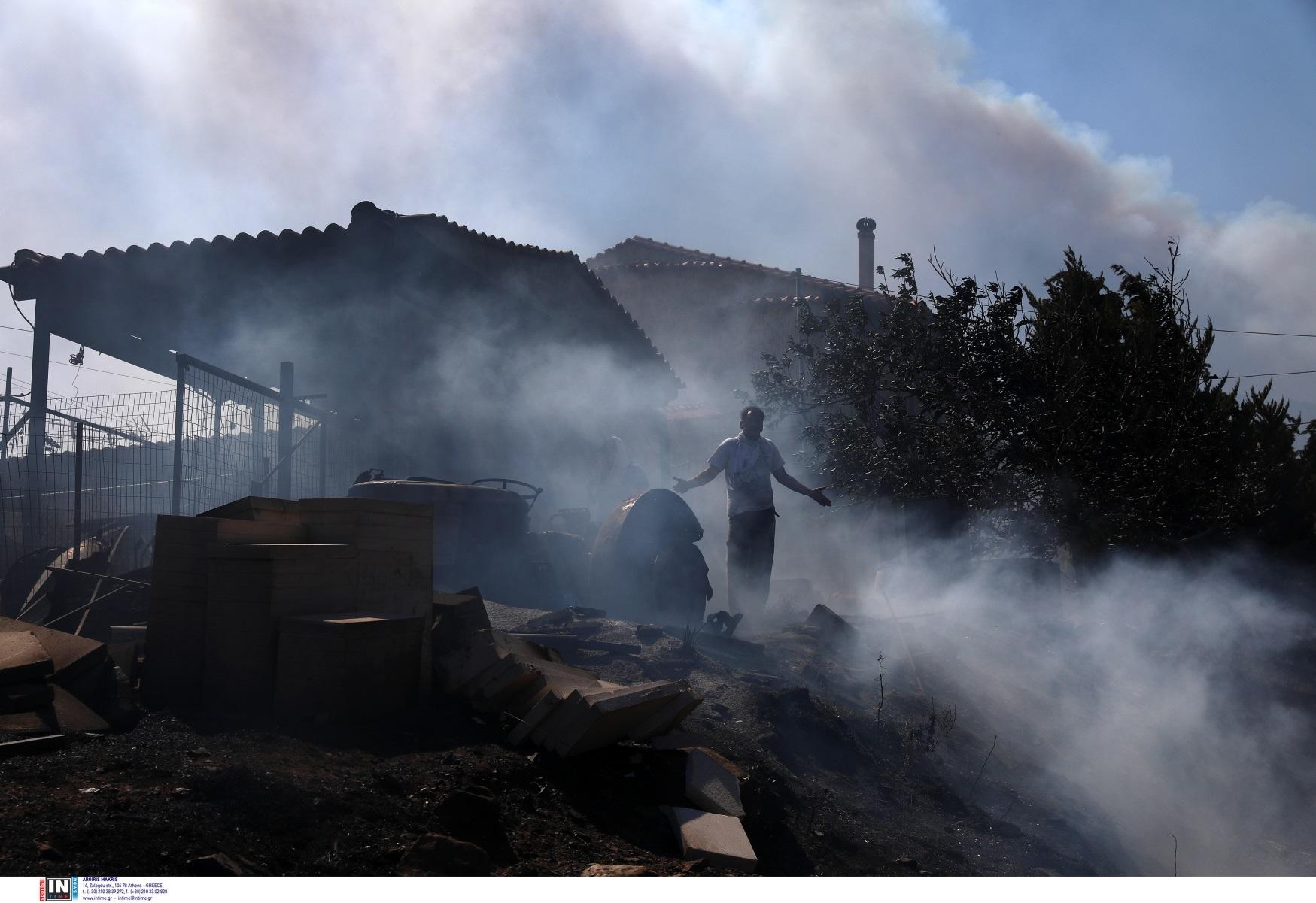 Φωτιά στην Κερατέα: Ο απολογισμός της πύρινης λαίλαπας – Ο δήμαρχος Λαυρεωτικής στο newsit