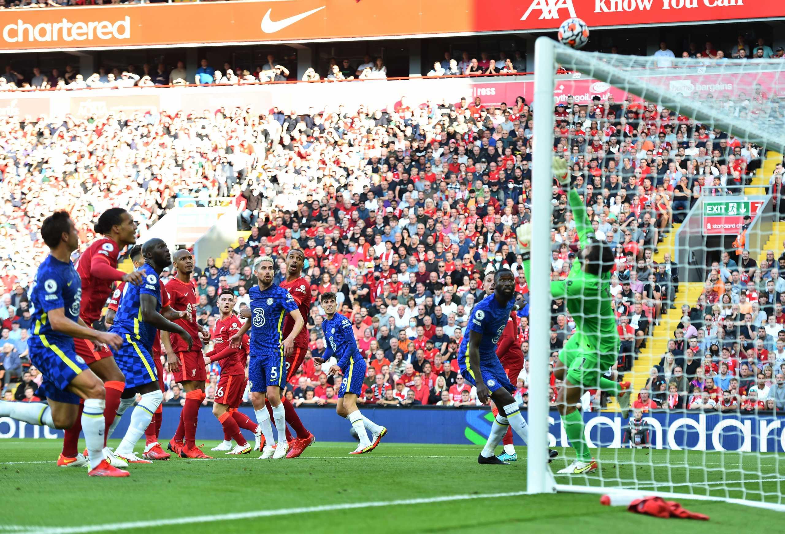 Λίβερπουλ – Τσέλσι: Οι «μπλε» πάγωσαν το Άνφιλντ αλλά ισοφαρίστηκαν και συνεχίζουν με 10 παίκτες