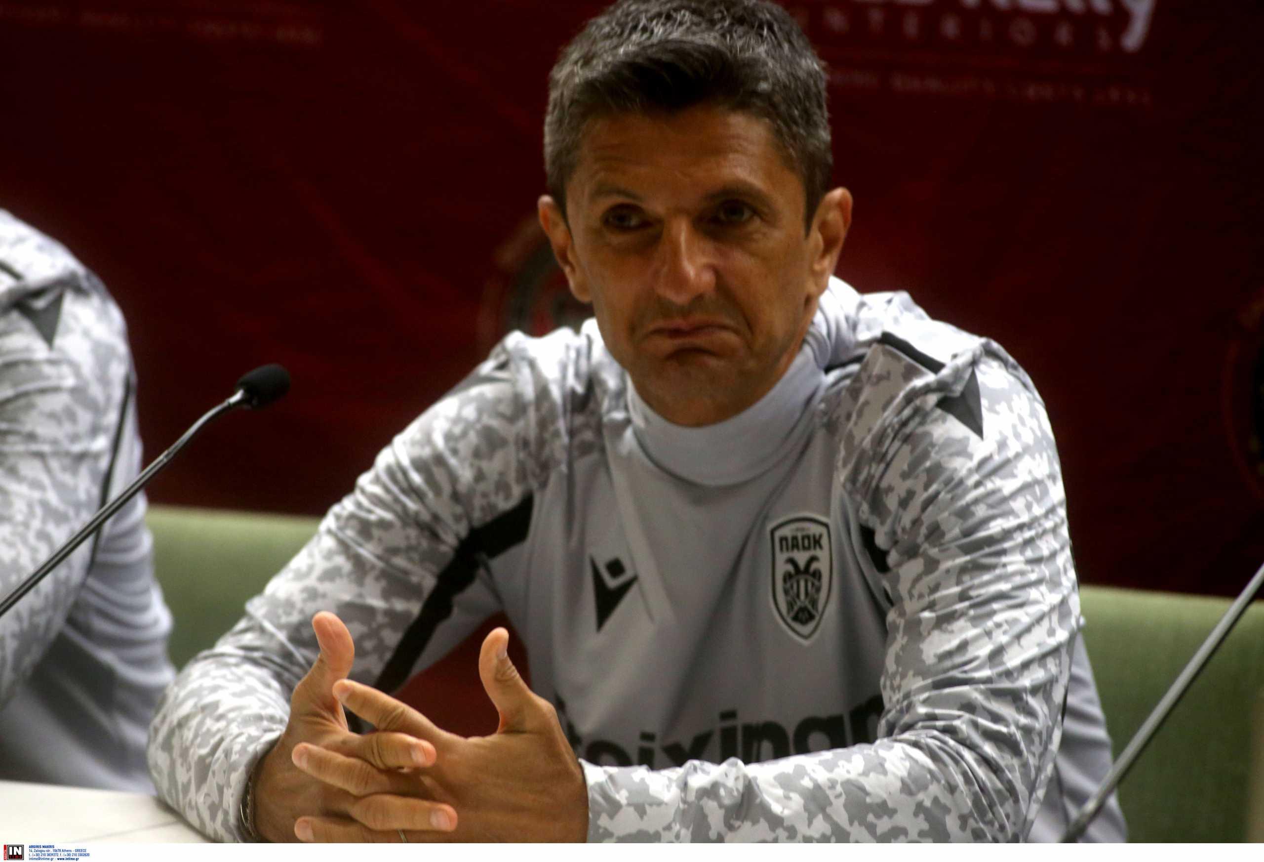 ΠΑΟΚ – Λουτσέσκου: «Θα γίνει μεγάλη μάχη αλλά ήρθαμε για τη νίκη»