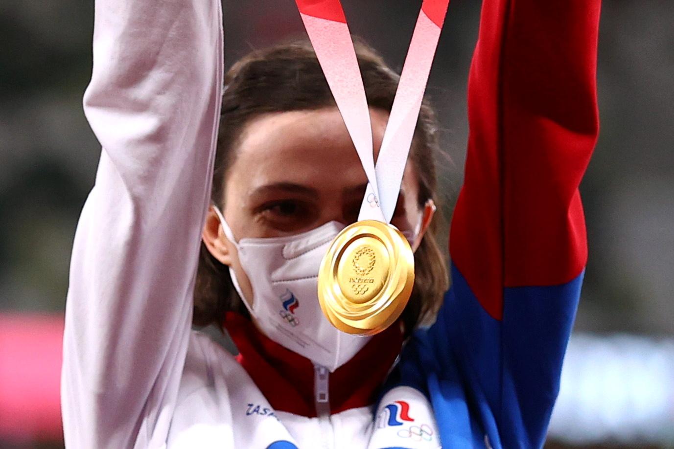 Ολυμπιακοί Αγώνες: Χρυσό για την Λασίτσκενε στο ύψος με «αυτοκρατορικό» άλμα