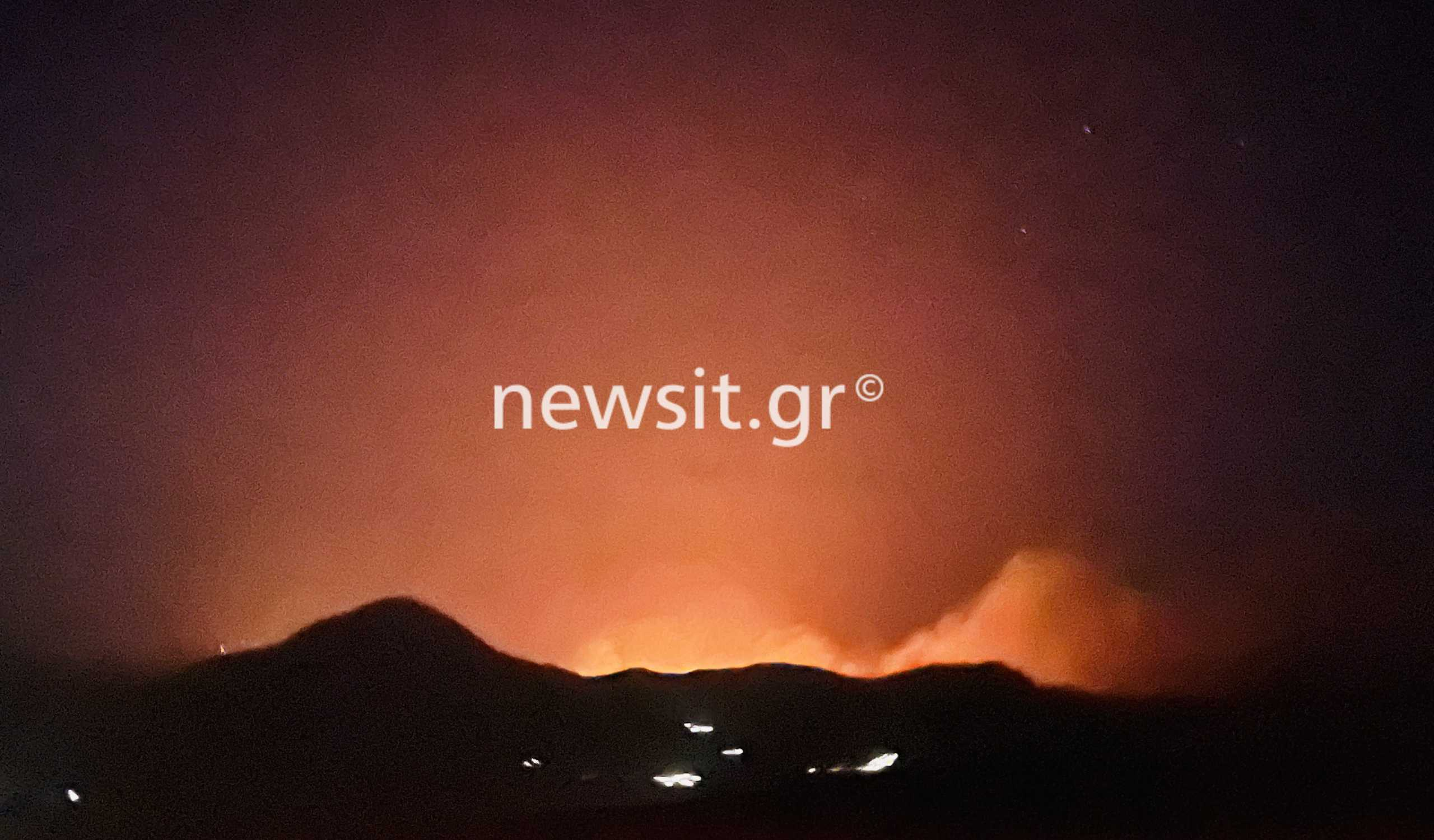 Φωτιά στη Μάνη: Καλύτερη η κατάσταση λέει ο αντιπεριφερειάρχης