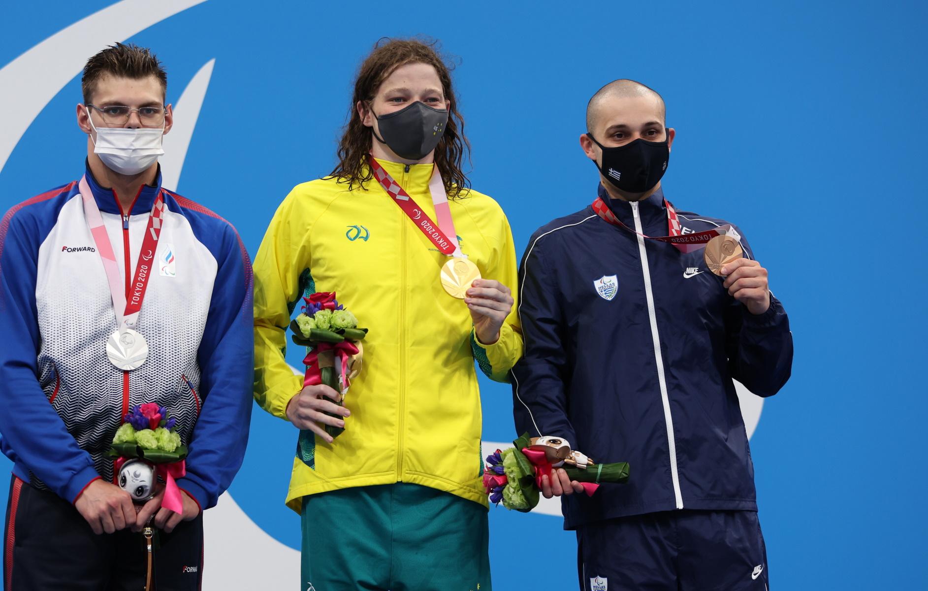 Παραολυμπιακοί Αγώνες: Χάλκινο μετάλλιο για τον Μιχαλεντζάκη στα 100 μ. ελεύθερο στην κολύμβηση