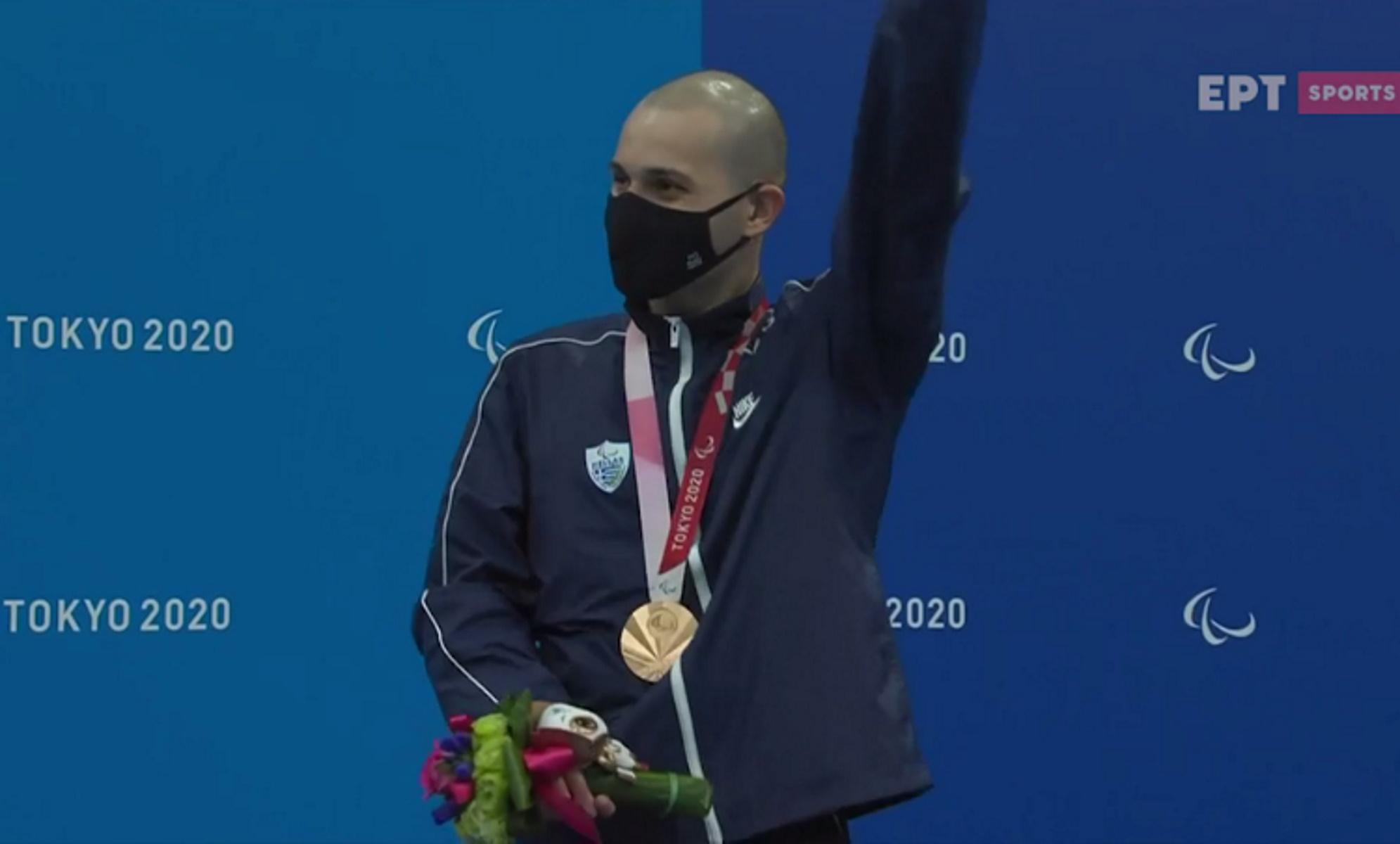 Παραολυμπιακοί Αγώνες: Η αφιέρωση του Μιχαλεντζάκη μετά την κατάκτηση του χάλκινου μεταλλίου