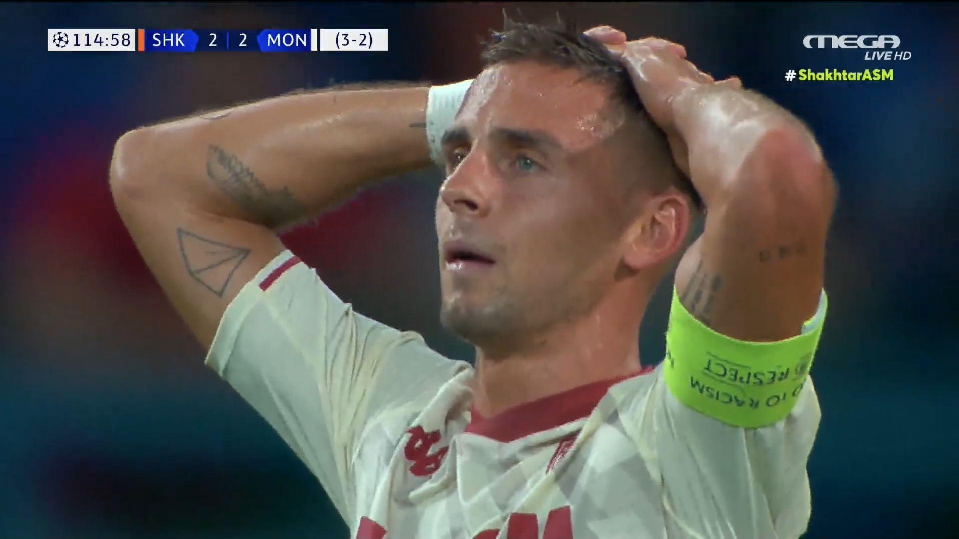 Champions League: Ασύλληπτο αυτογκόλ απέκλεισε την Μονακό κι έστειλε την Σαχτάρ στους ομίλους