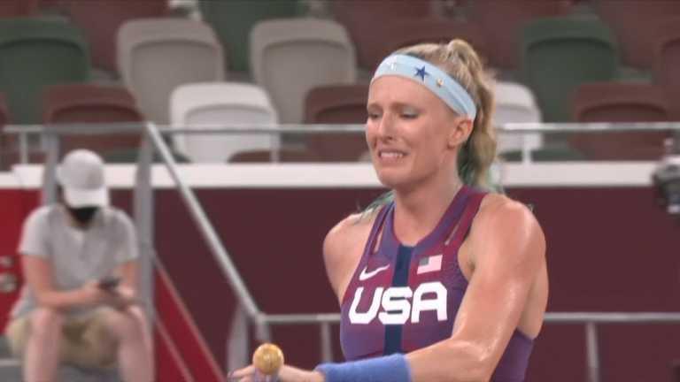 Ολυμπιακοί Αγώνες: Πόνος, δάκρυα και αποκλεισμός για Σάντι Μόρις στο επί κοντό γυναικών